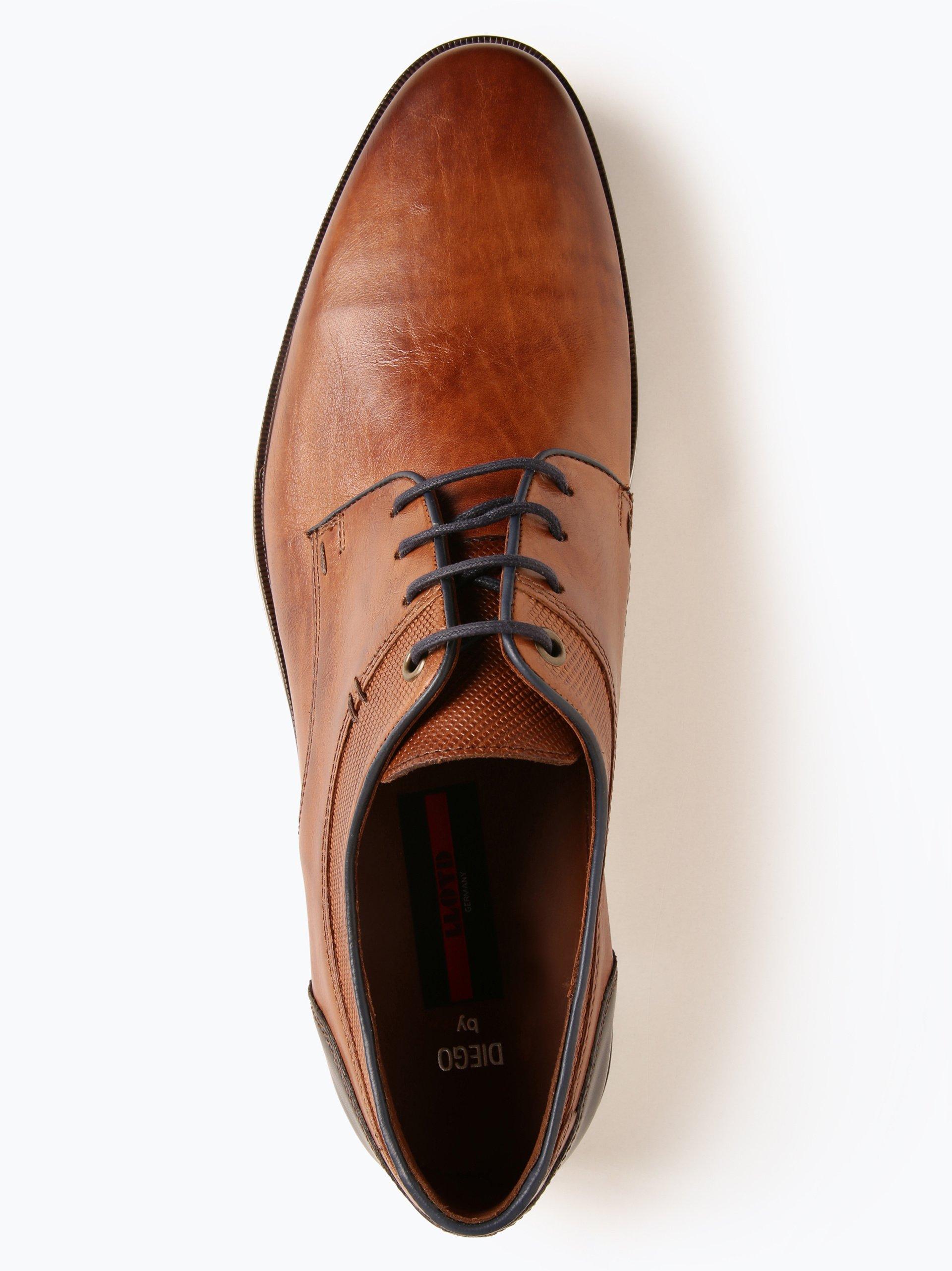 Lloyd Męskie buty sznurowane ze skóry – Diego