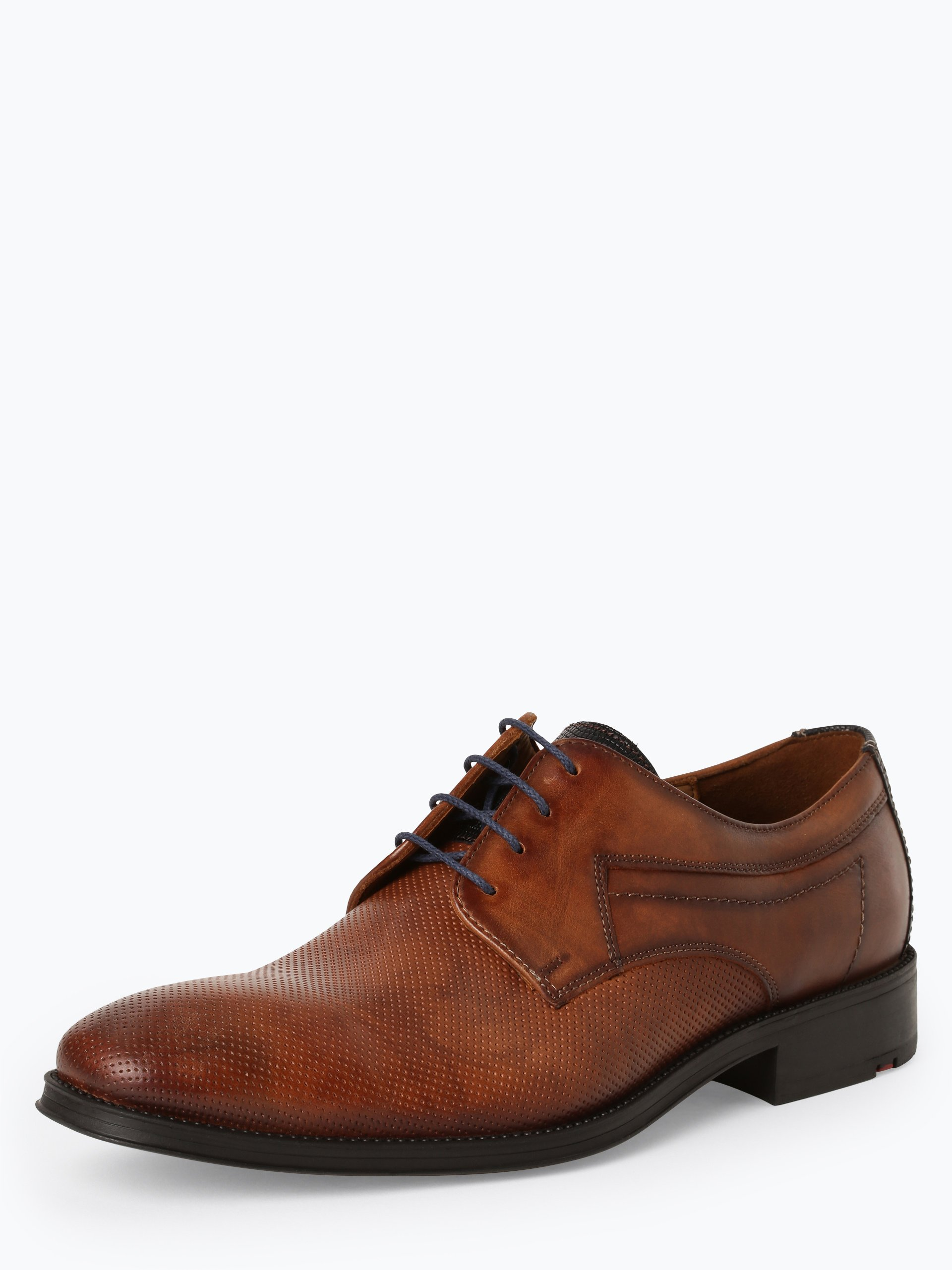 Lloyd Męskie buty sznurowane ze skóry – Gherom
