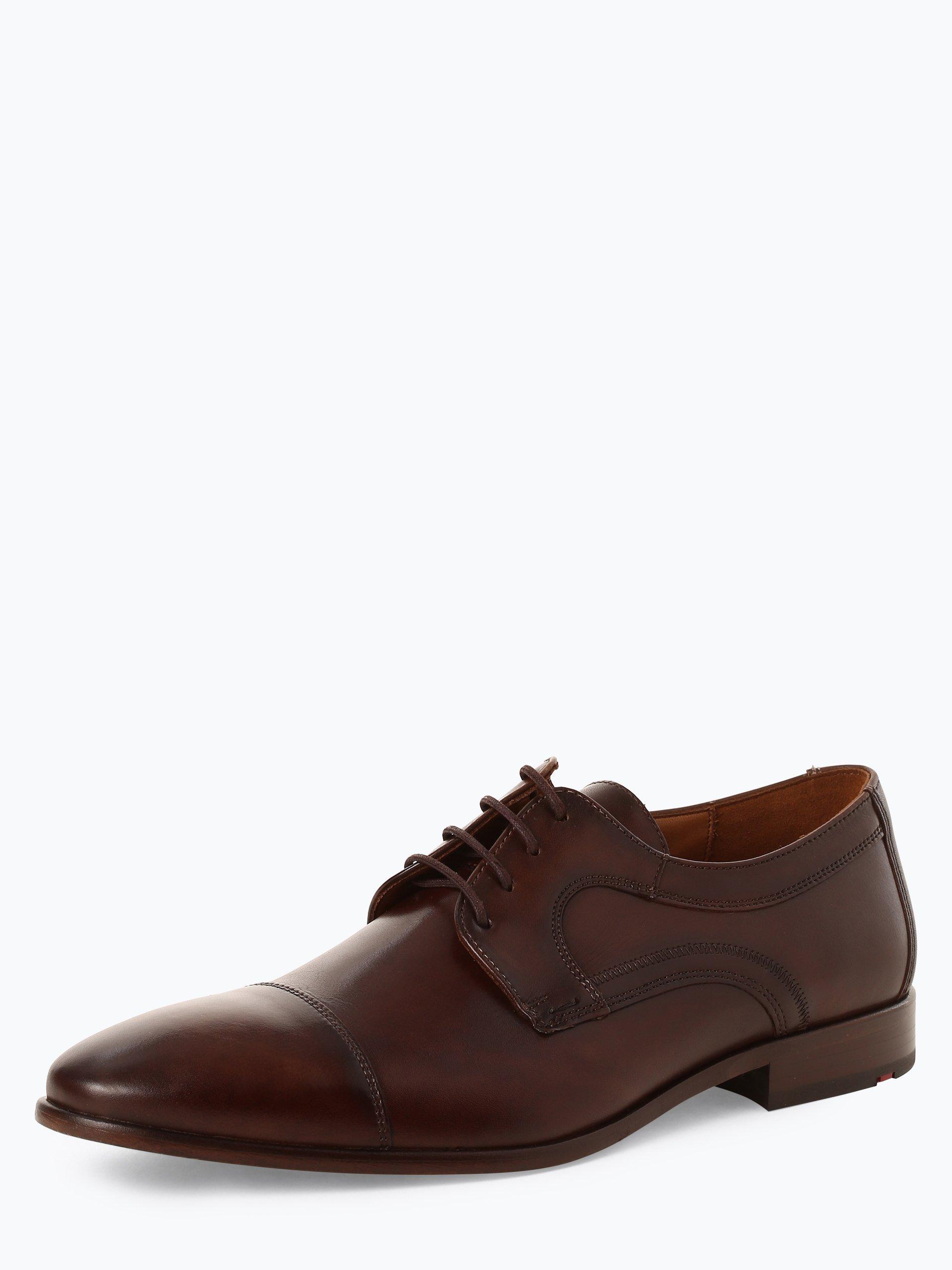 Lloyd Męskie buty sznurowane ze skóry – Maran