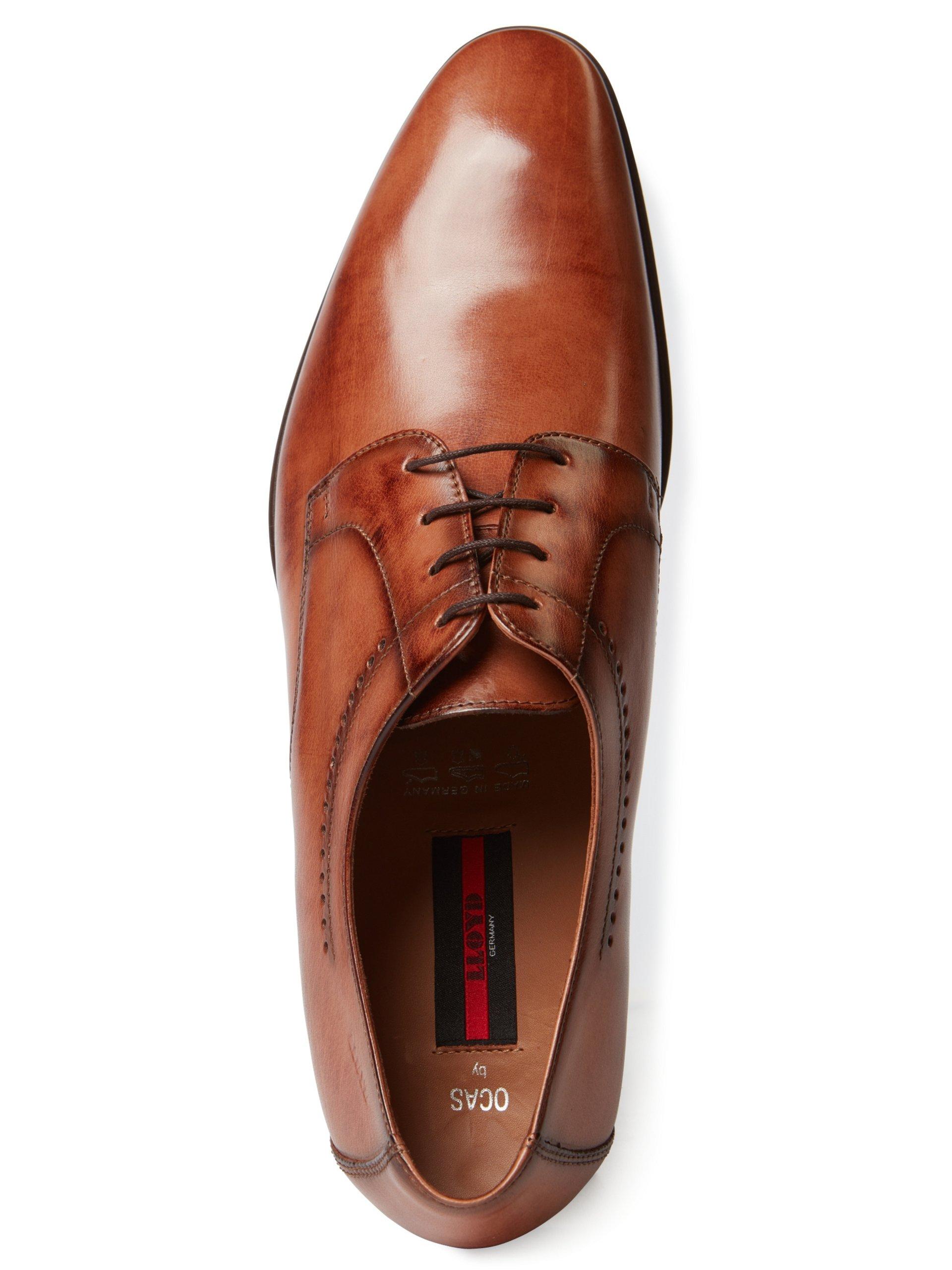 Lloyd Męskie buty sznurowane ze skóry – Ocas