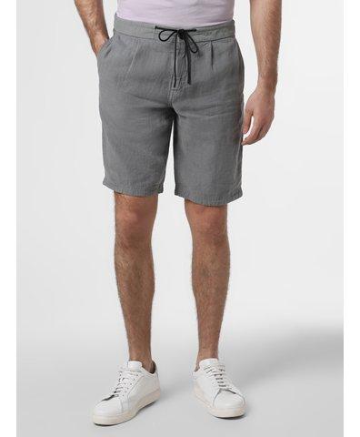 Lniane spodenki męskie – Saymoon-Shorts1