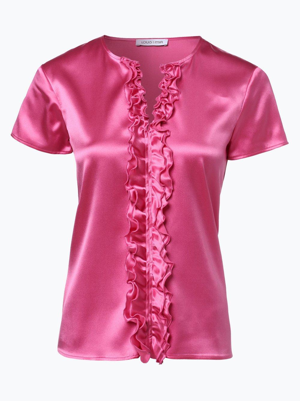 Damen Bluse mit Seiden-Anteil beige Louis and Mia PPEg9hdb