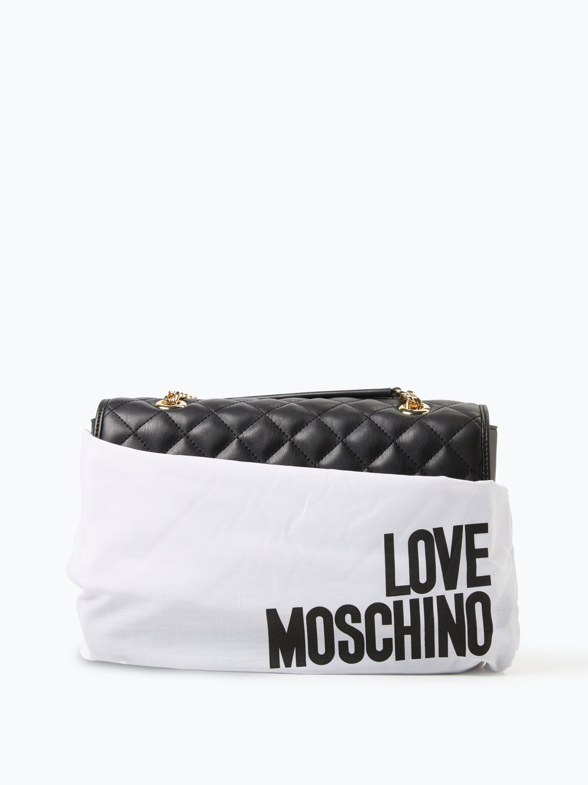 love moschino damen handtasche in leder optik 2 online kaufen peek und cloppenburg de. Black Bedroom Furniture Sets. Home Design Ideas