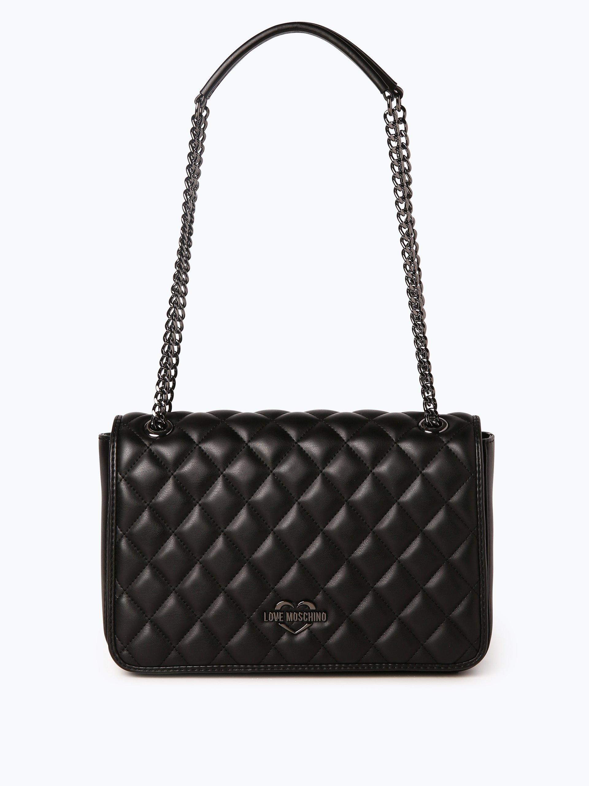 love moschino damen handtasche schwarz uni online kaufen vangraaf com. Black Bedroom Furniture Sets. Home Design Ideas