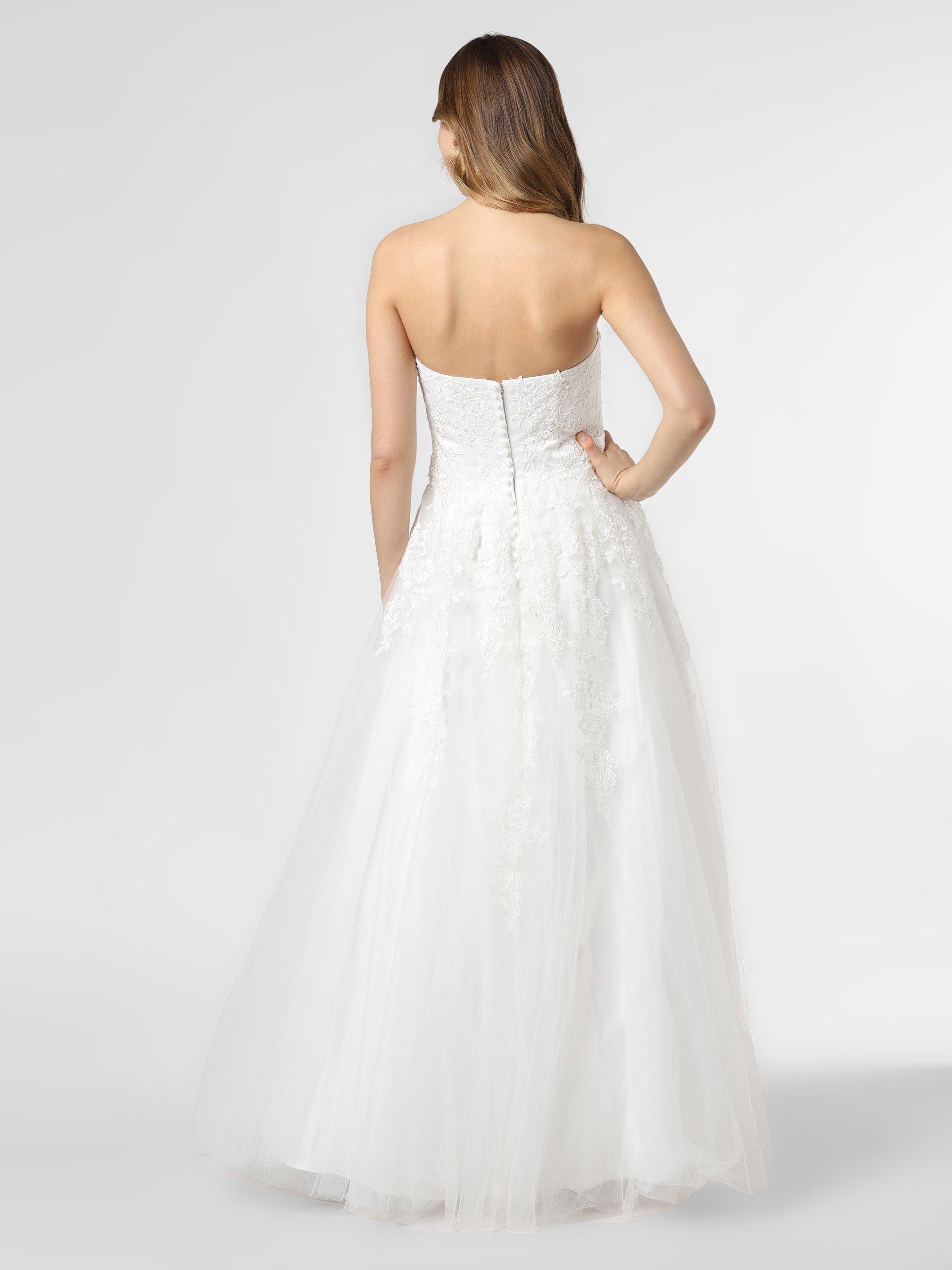 Luxuar Fashion Damska suknia ślubna z etolą