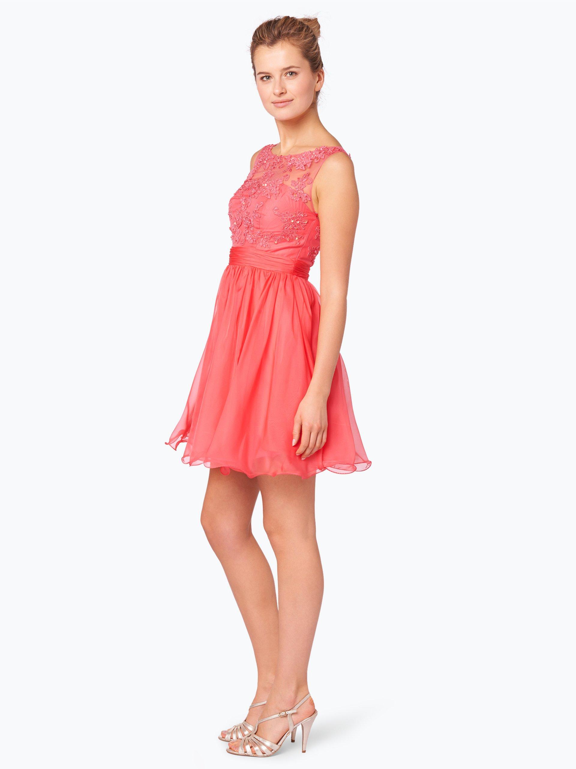 Luxuar Fashion Elegancka sukienka damska z etolą