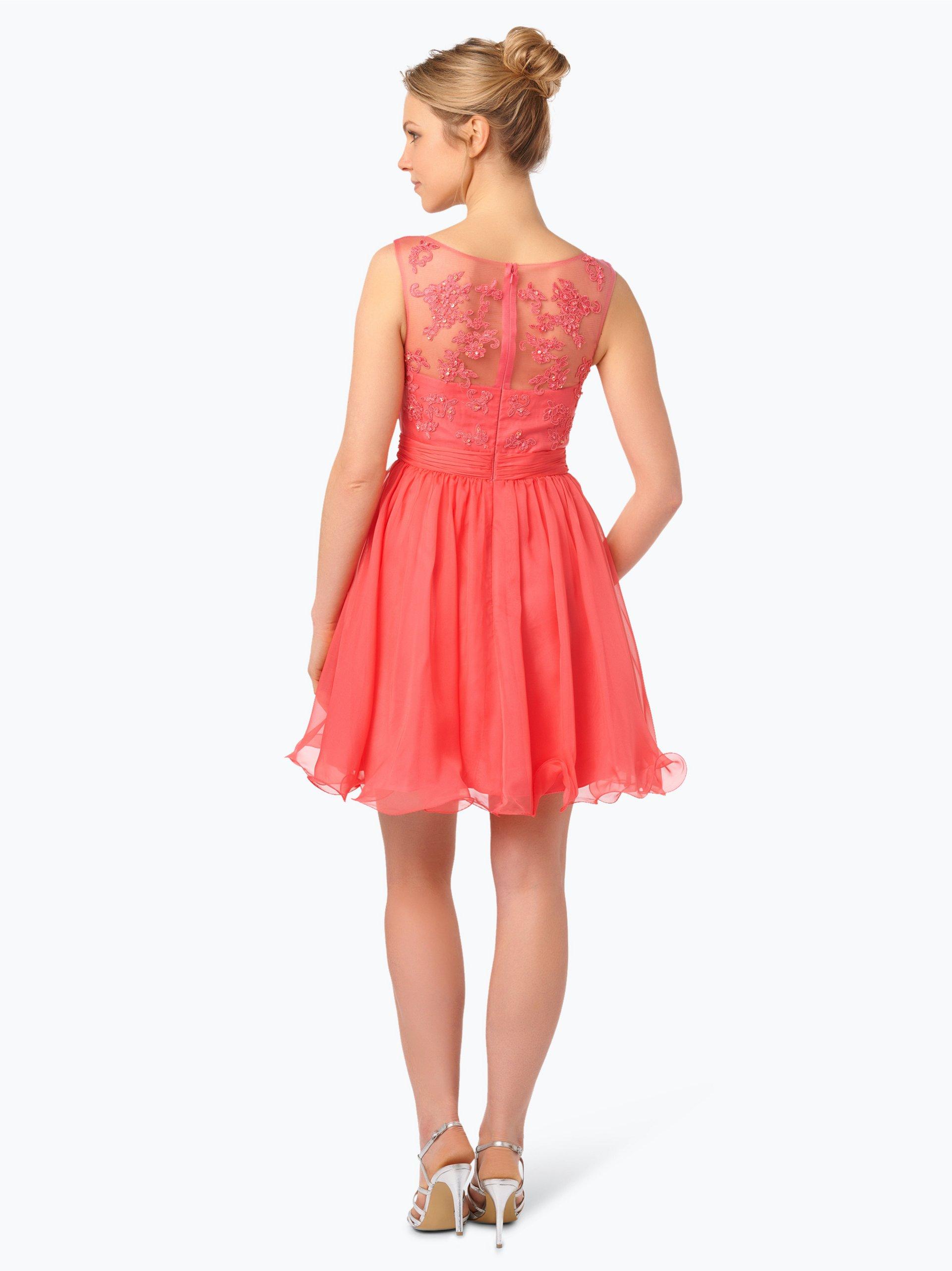 Luxuar Fashion Festliches Damenkleid mit Stola