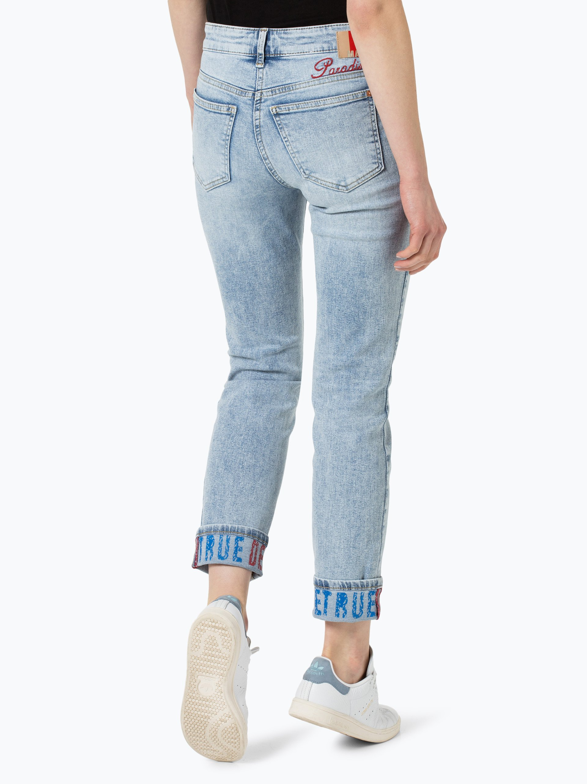 mac damen jeans angela denim bedruckt online kaufen. Black Bedroom Furniture Sets. Home Design Ideas