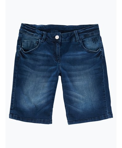 Mädchen Jeans-Bermuda