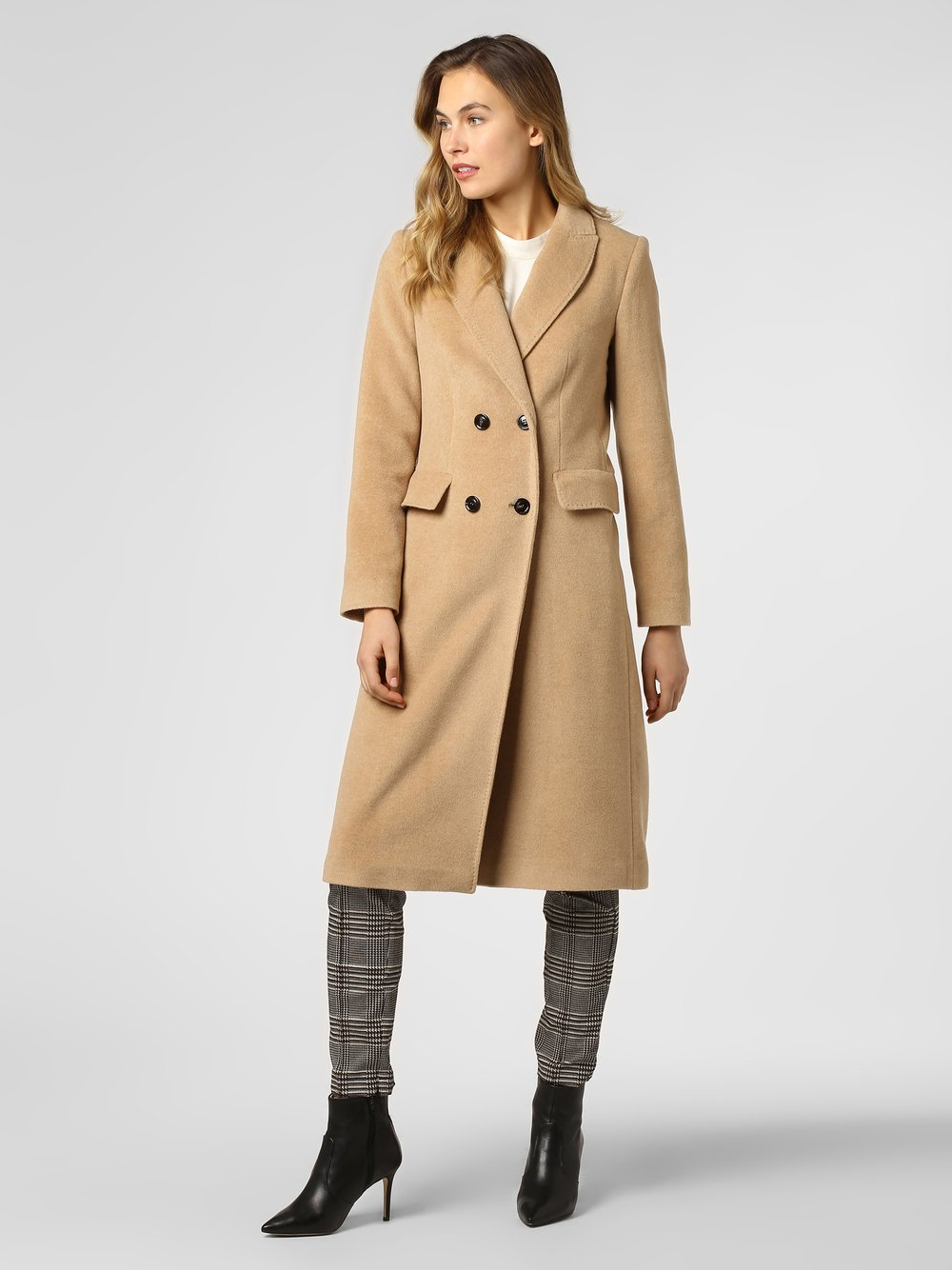 Damen Mantel mit Alpaka Anteil