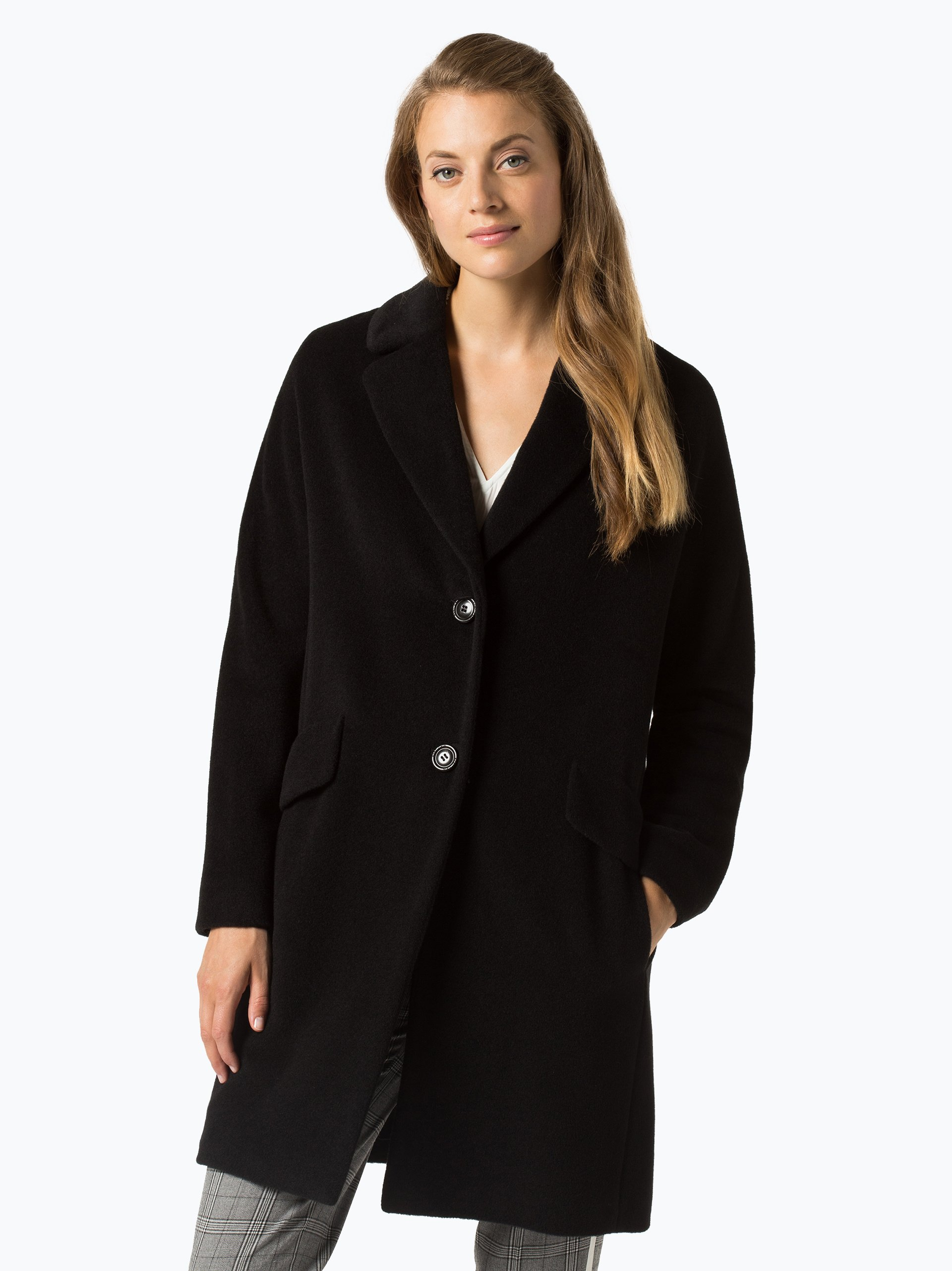 Marc Cain Additions Damen Mantel mit Alpaka-Anteil
