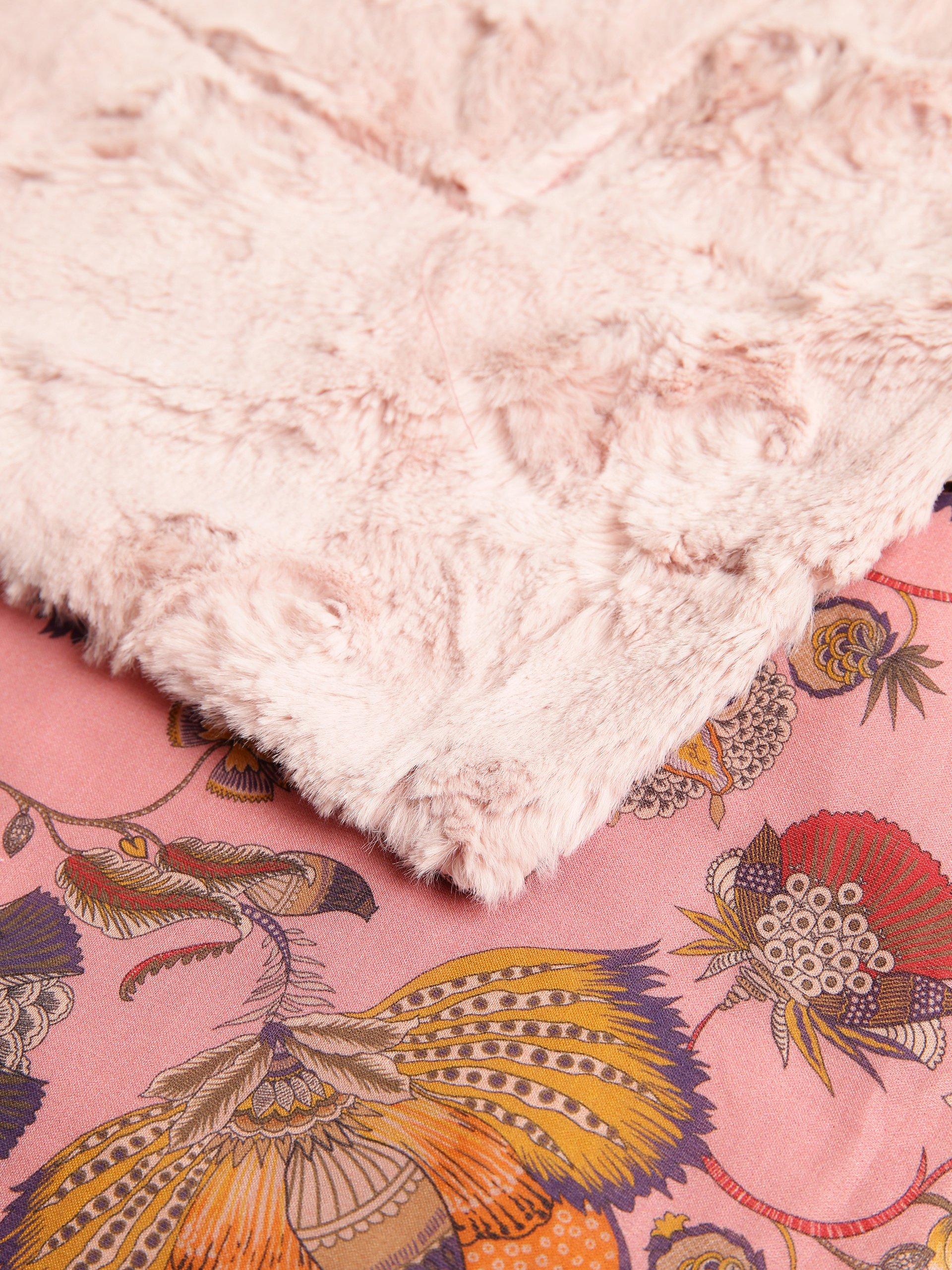 marc cain additions damen tagesdecke rosa gemustert online kaufen vangraaf com. Black Bedroom Furniture Sets. Home Design Ideas