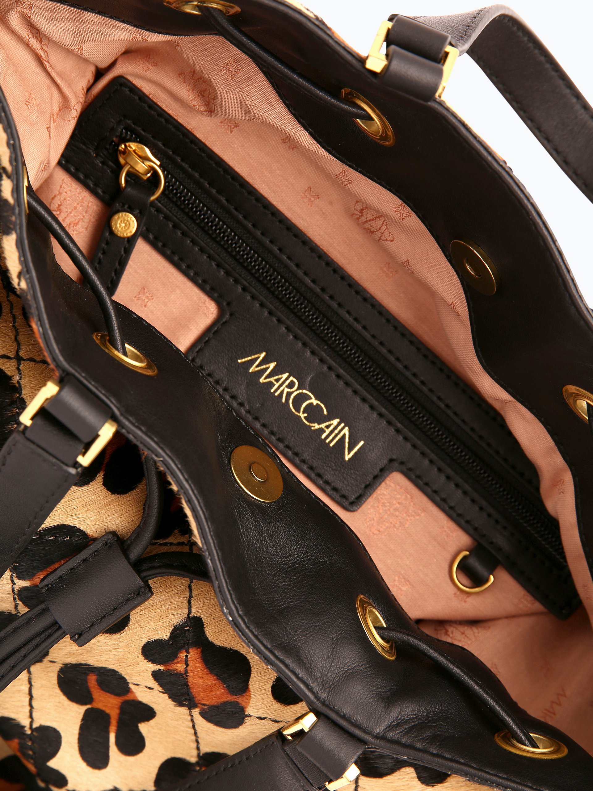 marc cain bags shoes damen handtasche aus leder 2 online kaufen peek und cloppenburg de. Black Bedroom Furniture Sets. Home Design Ideas