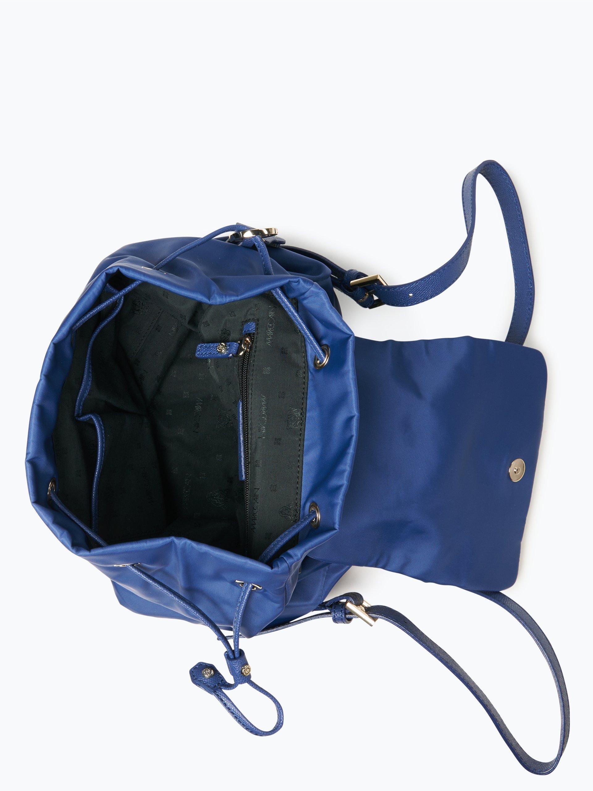 Marc Cain Bags & Shoes Damen Rucksack mit Leder-Anteil