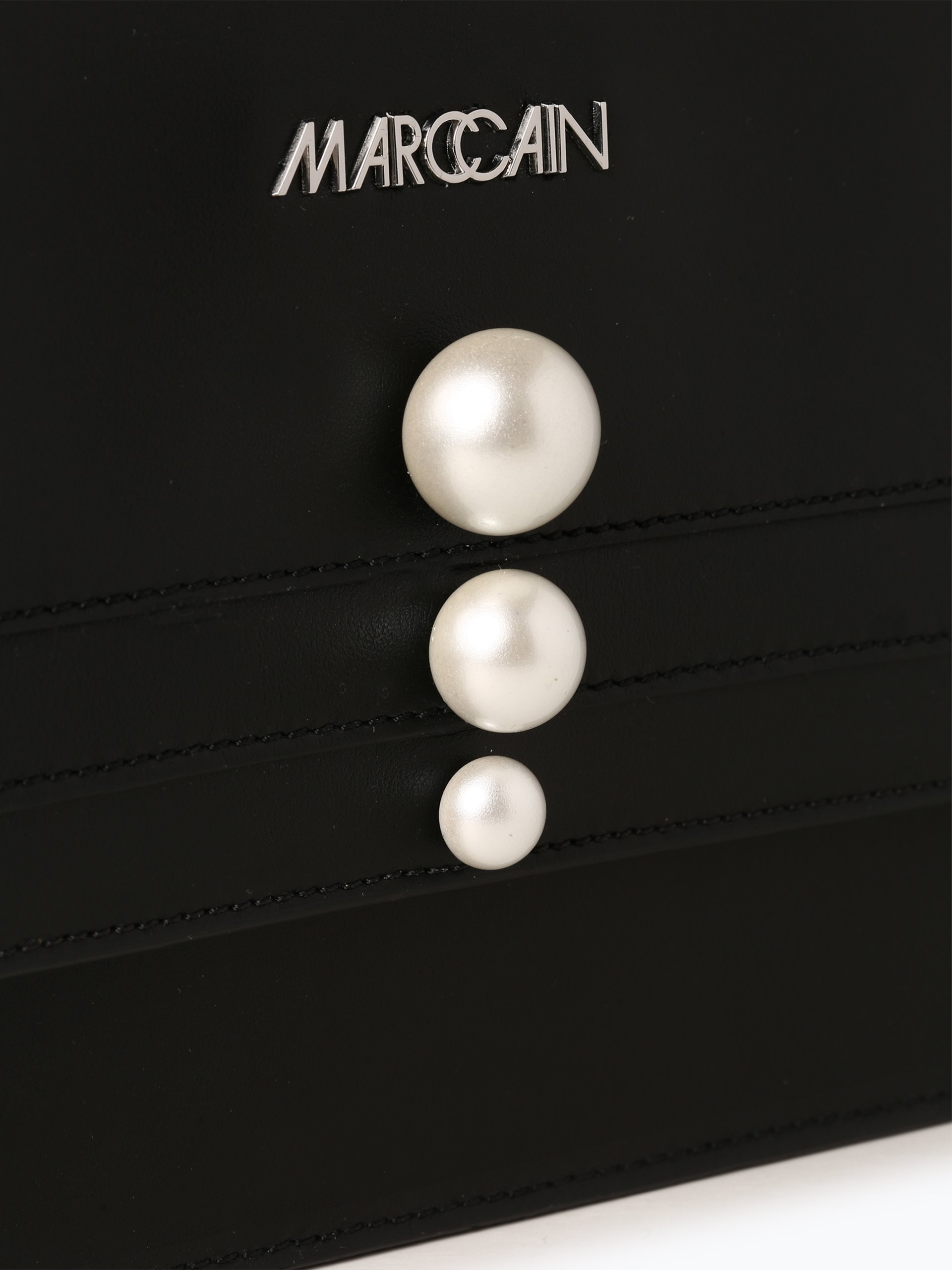 marc cain bags shoes damen tasche aus leder online kaufen vangraaf com. Black Bedroom Furniture Sets. Home Design Ideas