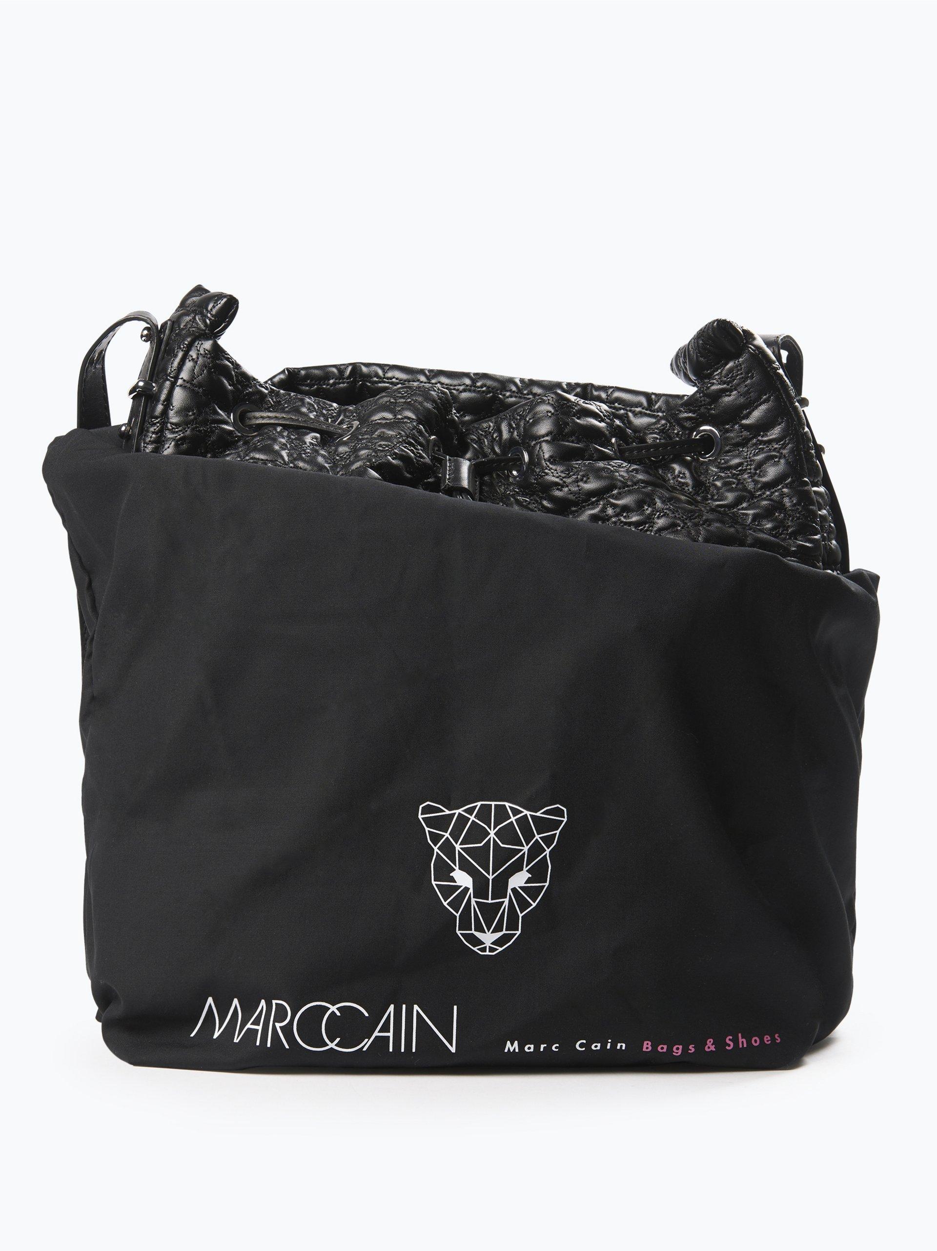 marc cain bags shoes damen tasche in leder optik schwarz uni online kaufen peek und. Black Bedroom Furniture Sets. Home Design Ideas