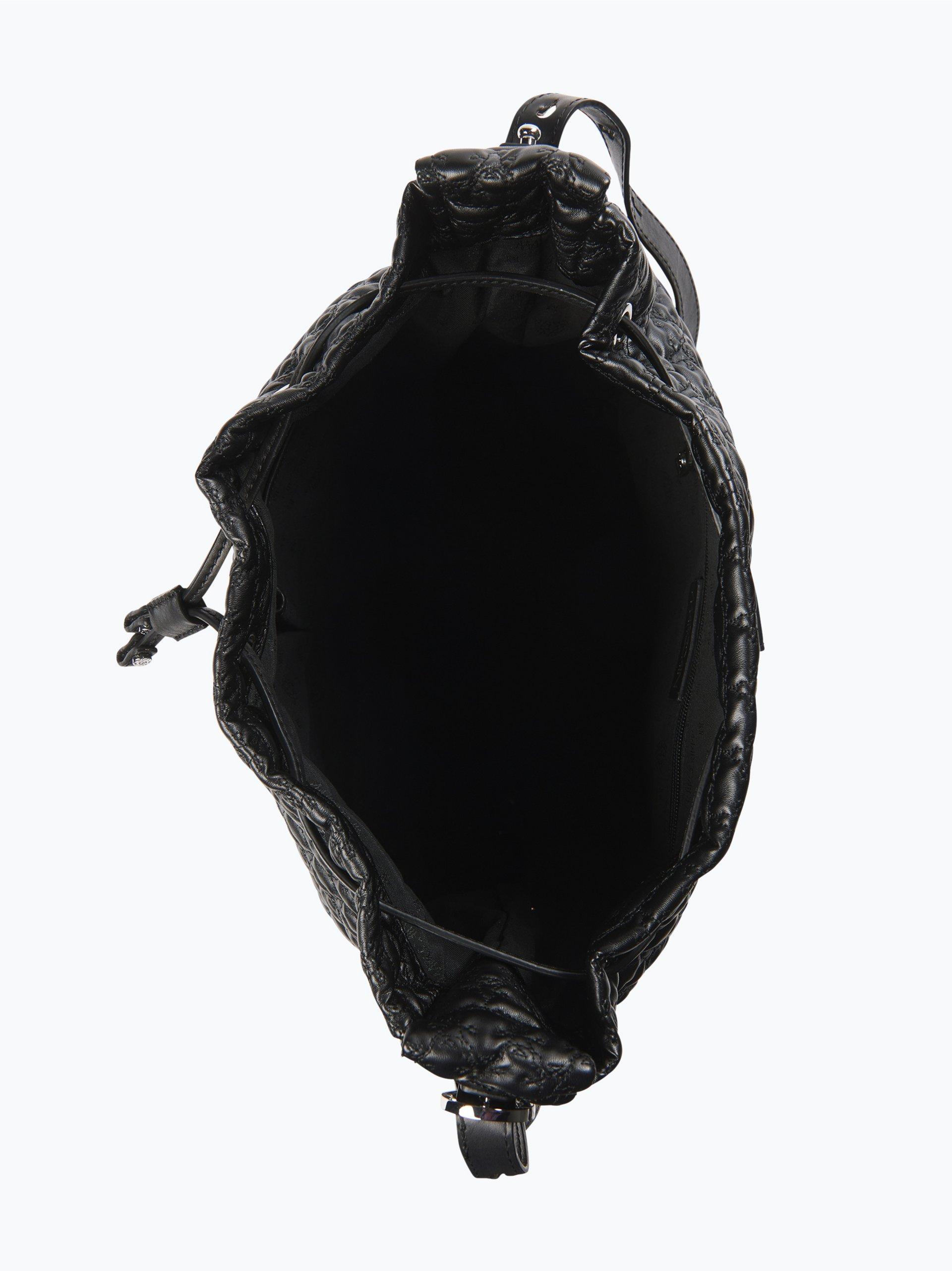 marc cain bags shoes damen tasche in leder optik schwarz uni online kaufen vangraaf com. Black Bedroom Furniture Sets. Home Design Ideas