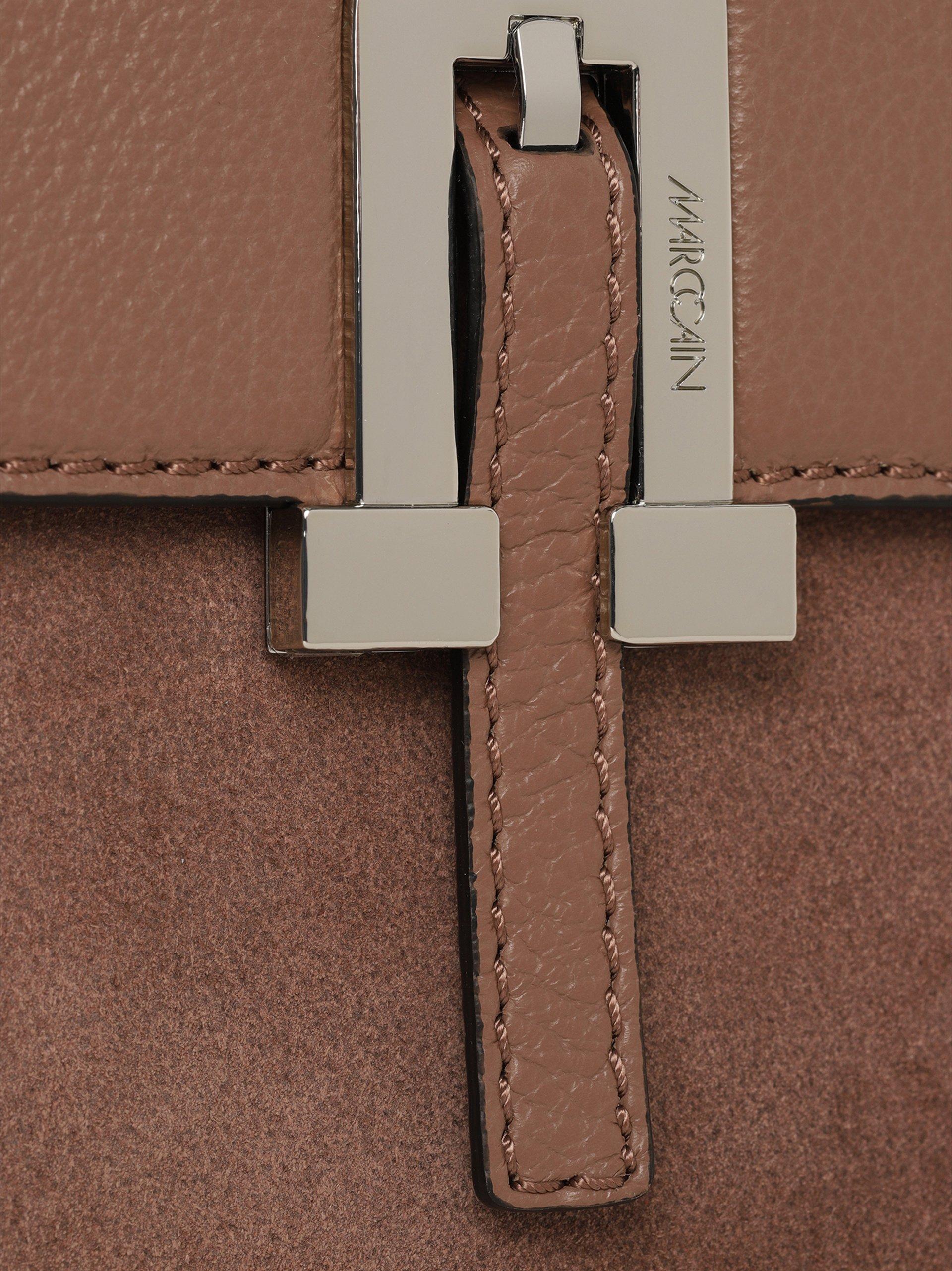 Marc Cain Bags & Shoes Damen Umhängetasche aus Leder