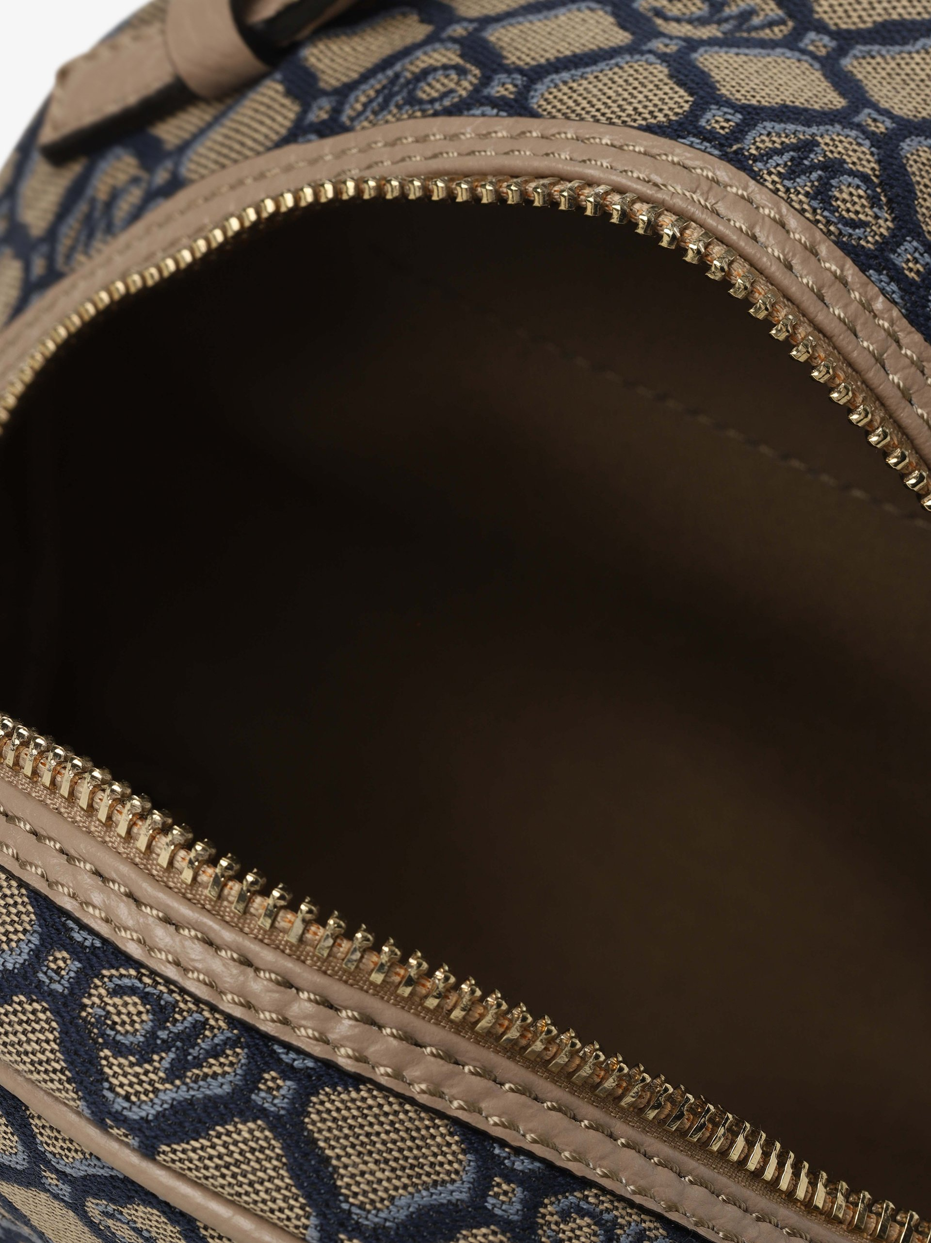 Marc Cain Bags & Shoes Damski plecak z dodatkiem skóry