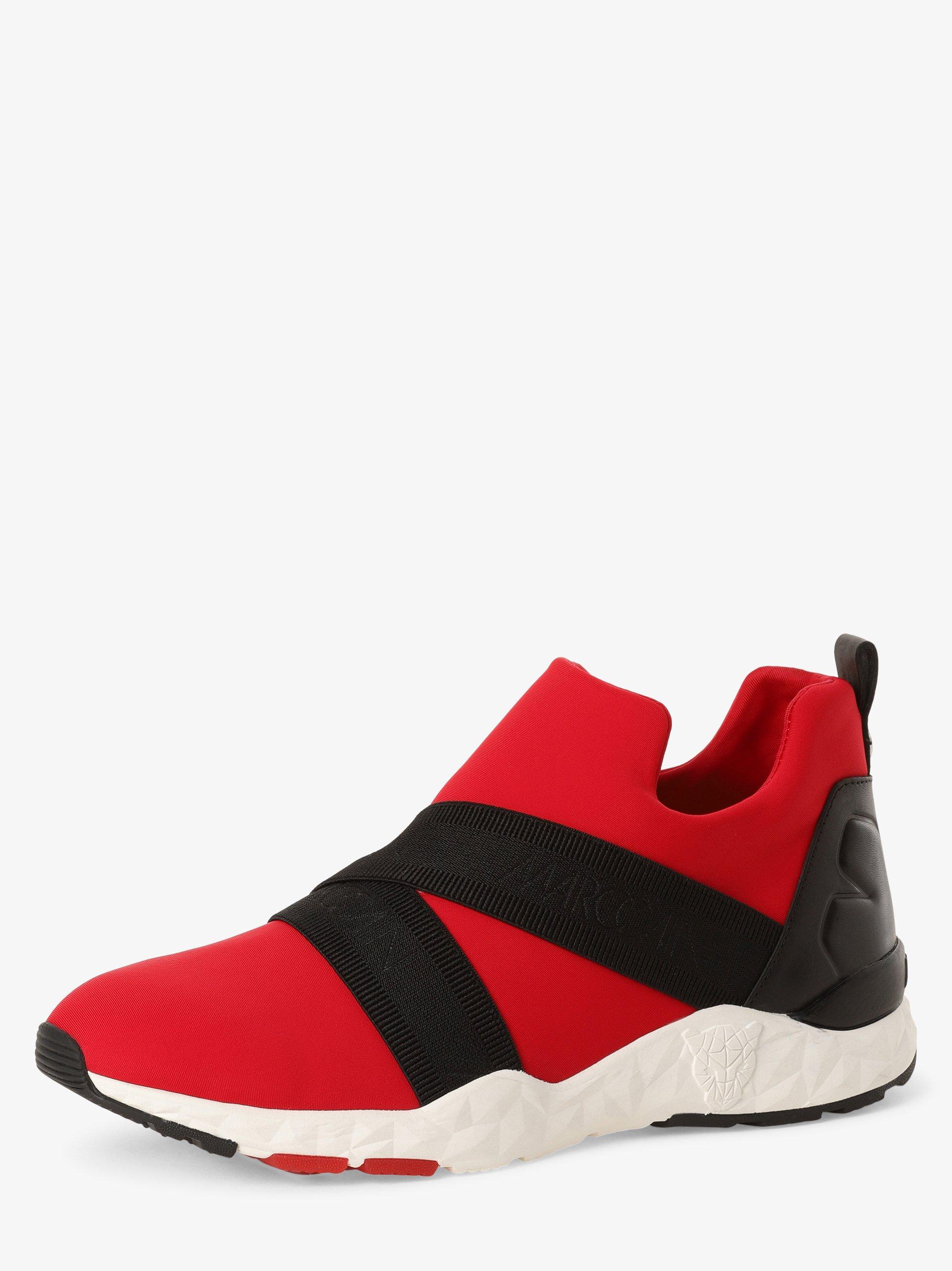 Marc Cain Bags & Shoes Tenisówki damskie z dodatkiem skóry