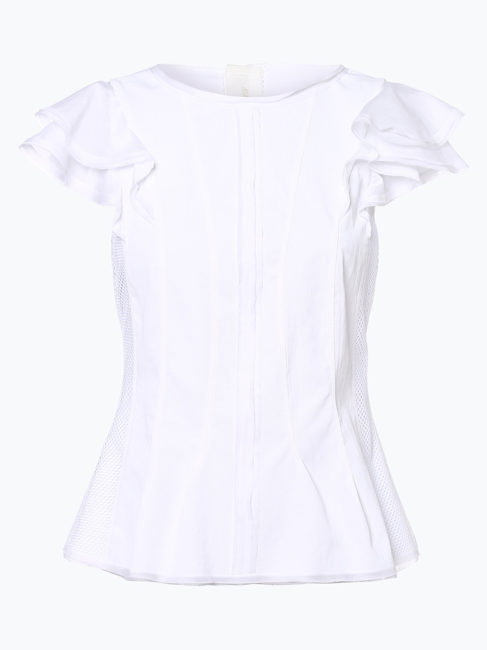 Marc Cain Collections Damen Blusenshirt mit Leinen-Anteil