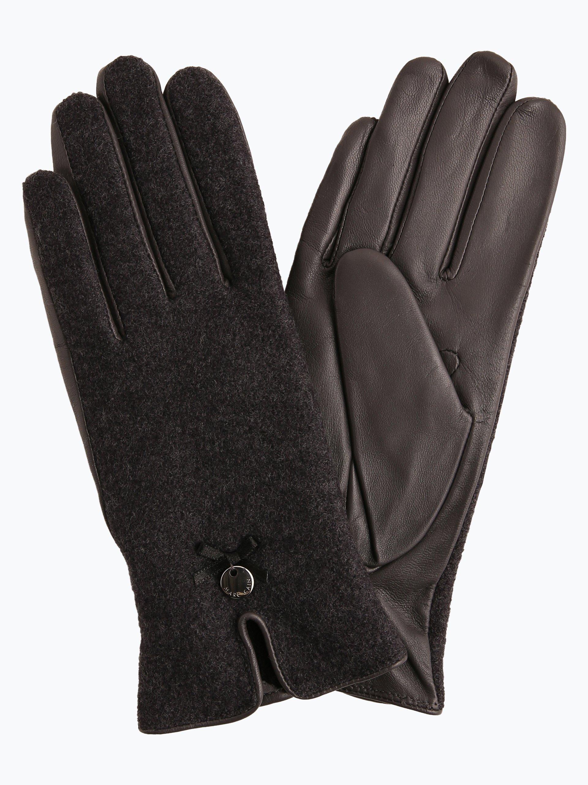 Marc Cain Collections Damen Handschuhe mit Leder-Anteil