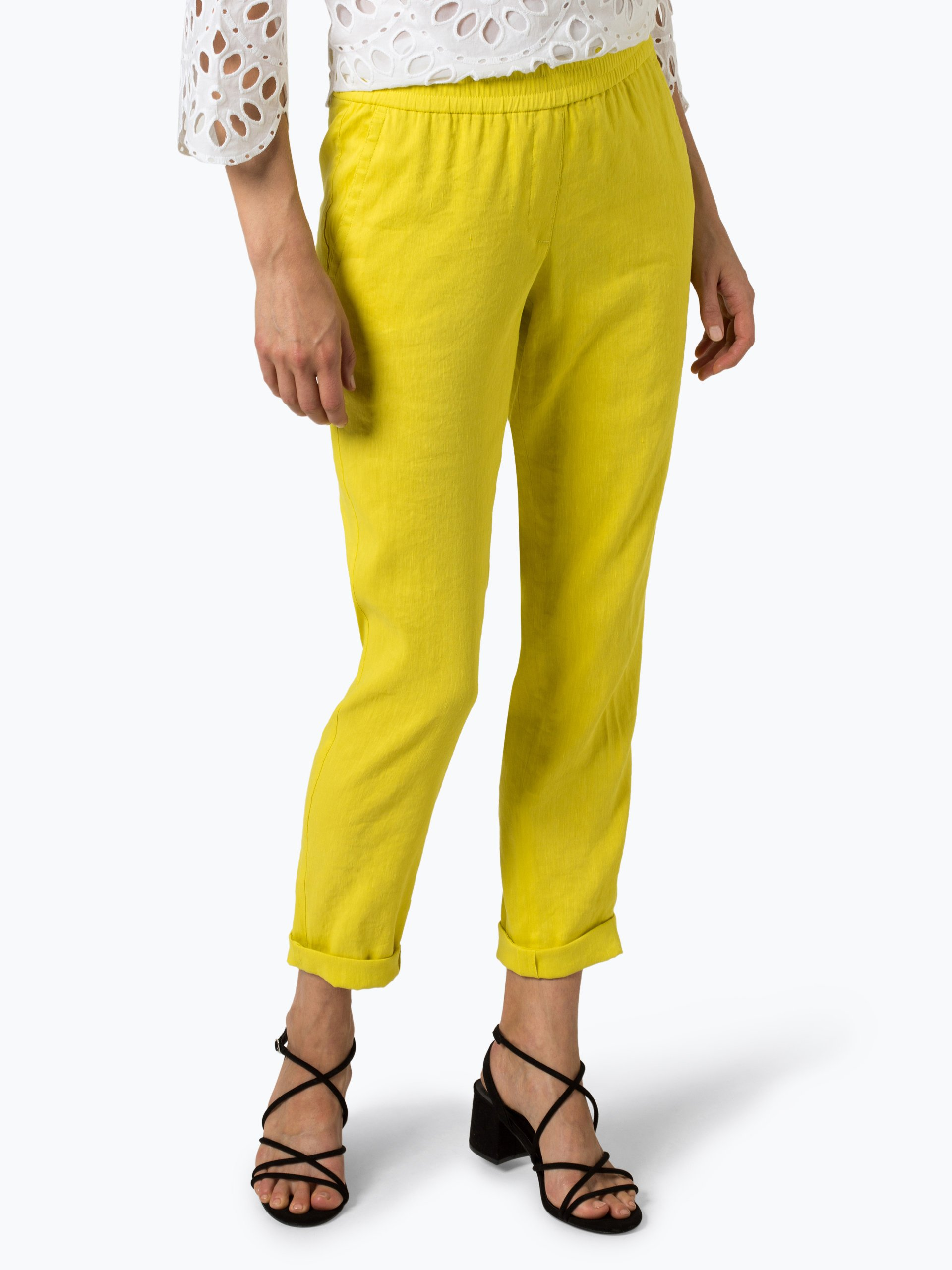 Marc Cain Collections Damen Hose mit Leinen-Anteil