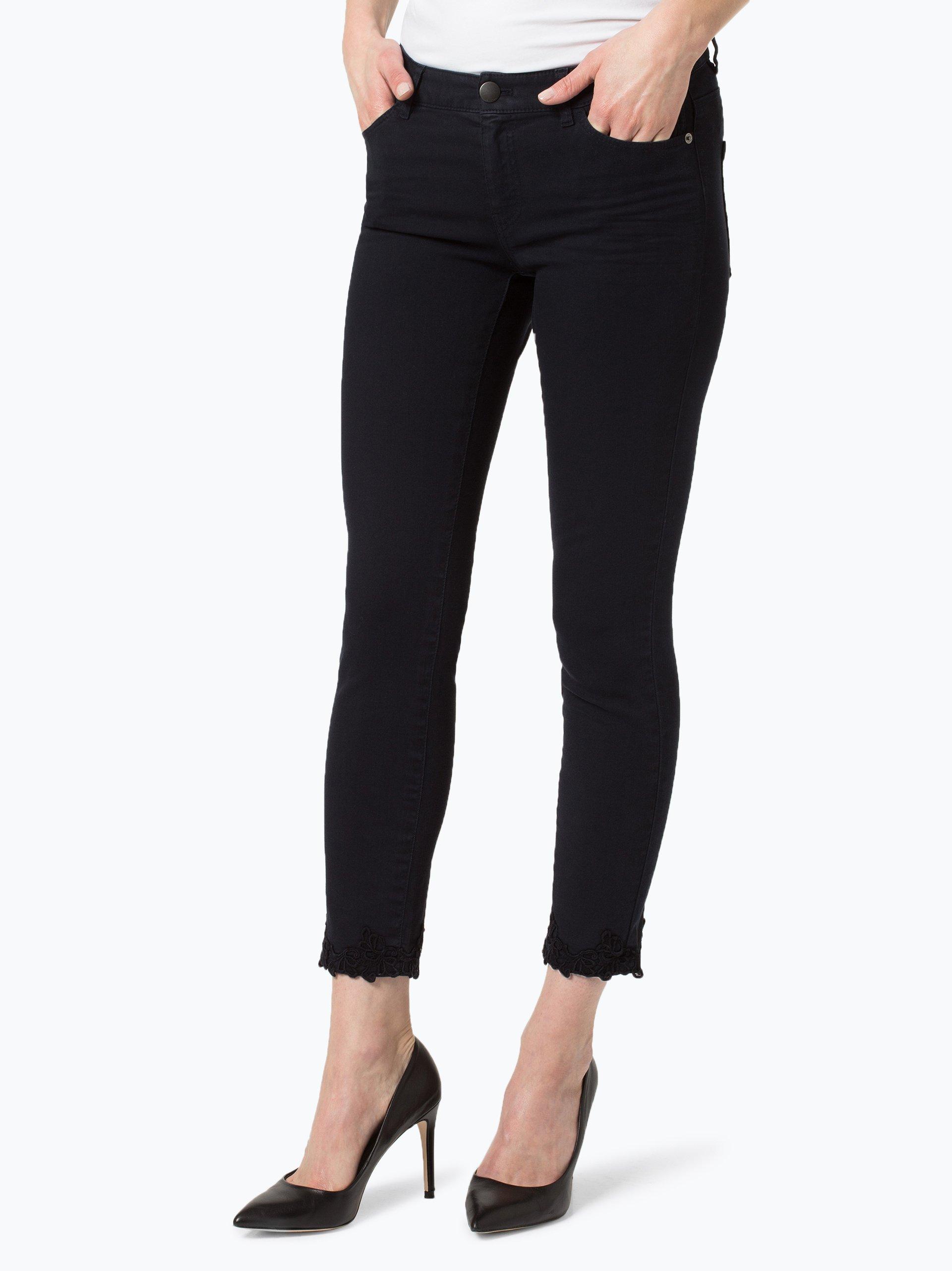 marc cain collections damen jeans marine uni online kaufen. Black Bedroom Furniture Sets. Home Design Ideas