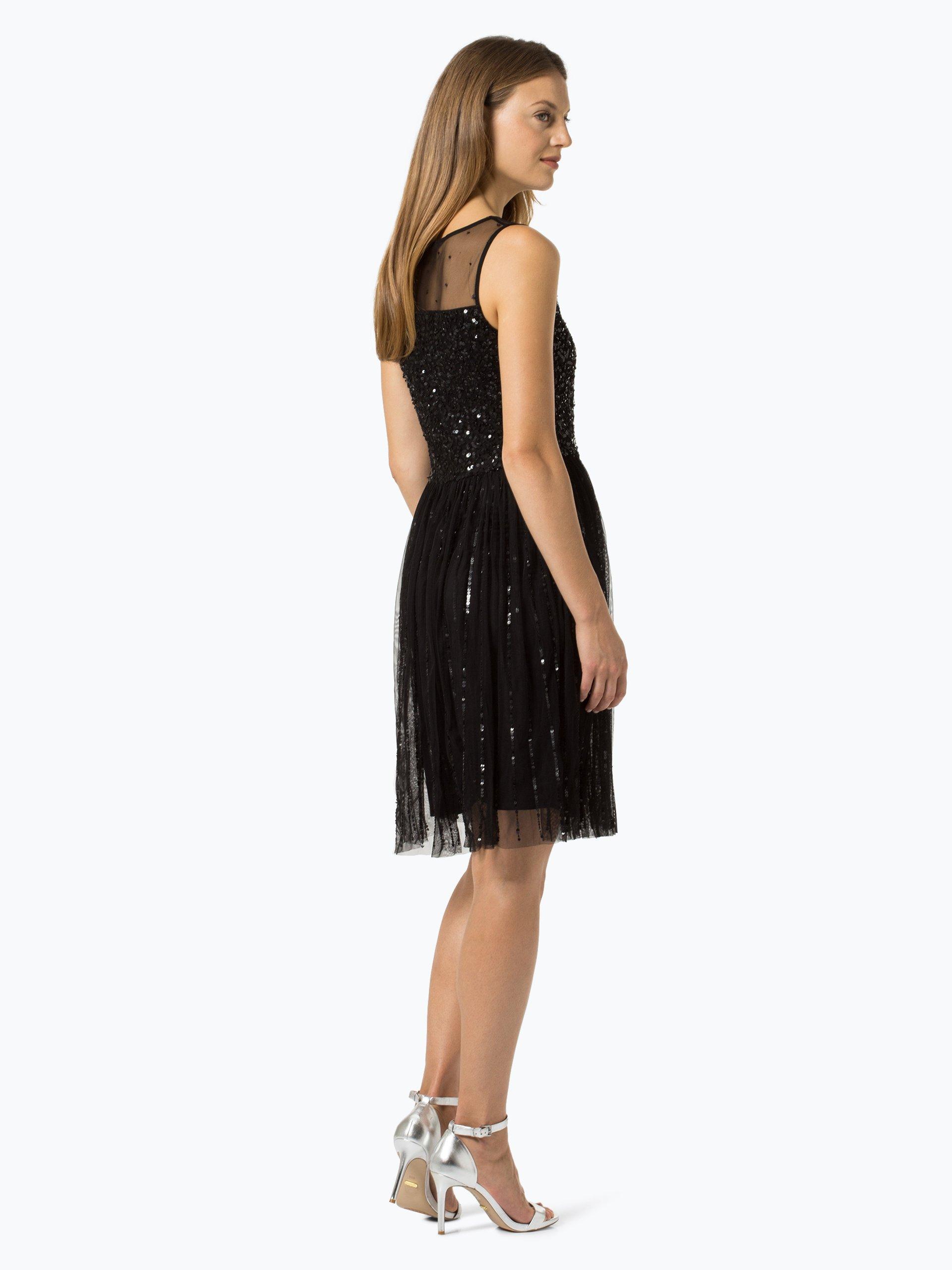 marc cain collections damen kleid schwarz gemustert online kaufen vangraaf com. Black Bedroom Furniture Sets. Home Design Ideas