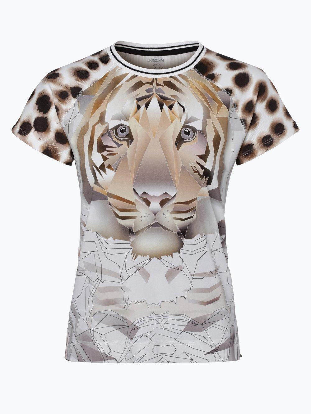 Marc Cain Collections T shirt damski z dodatkiem jedwabiu