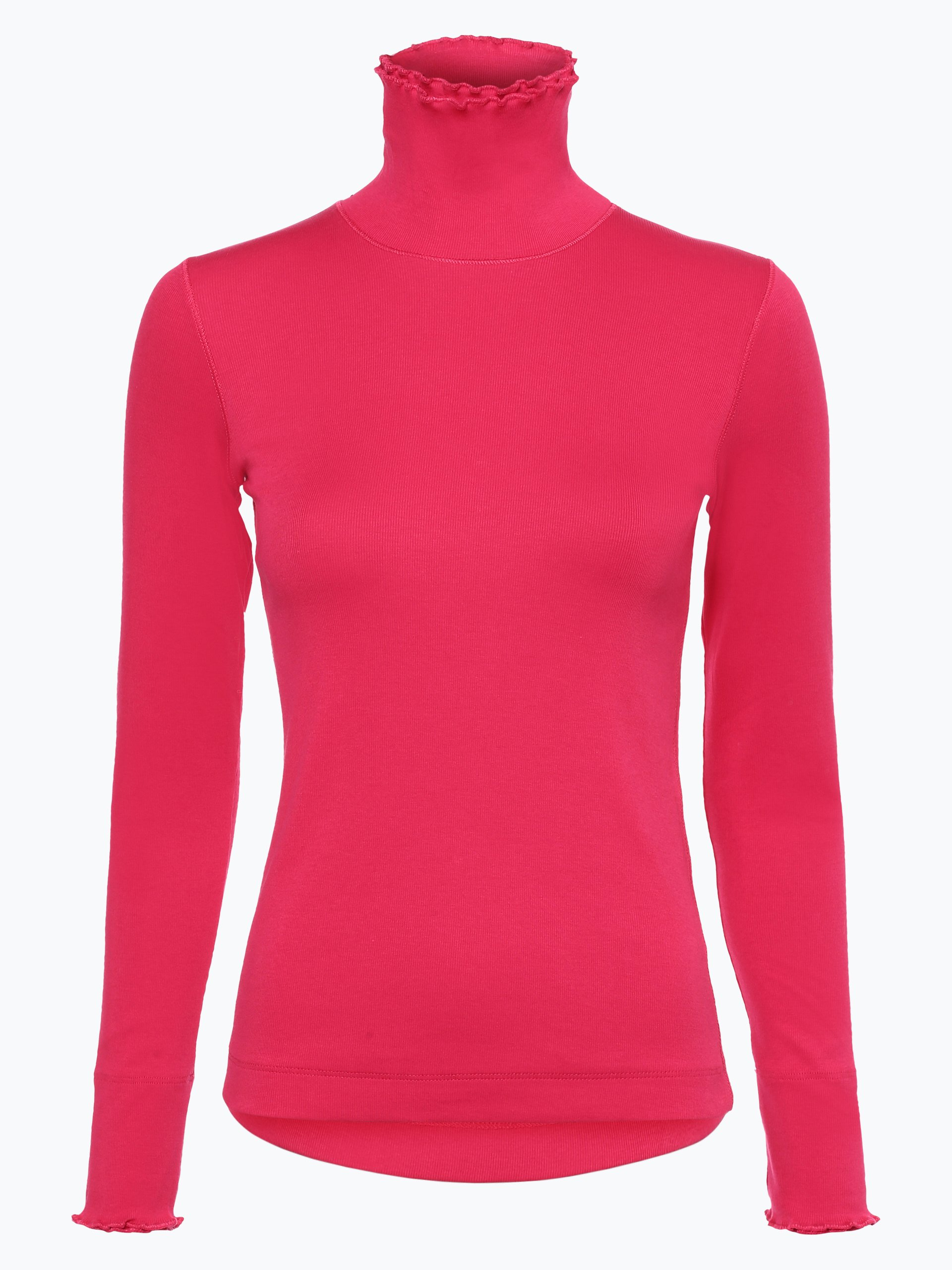 marc cain sports damen langarmshirt pink uni online kaufen peek und cloppenburg de. Black Bedroom Furniture Sets. Home Design Ideas