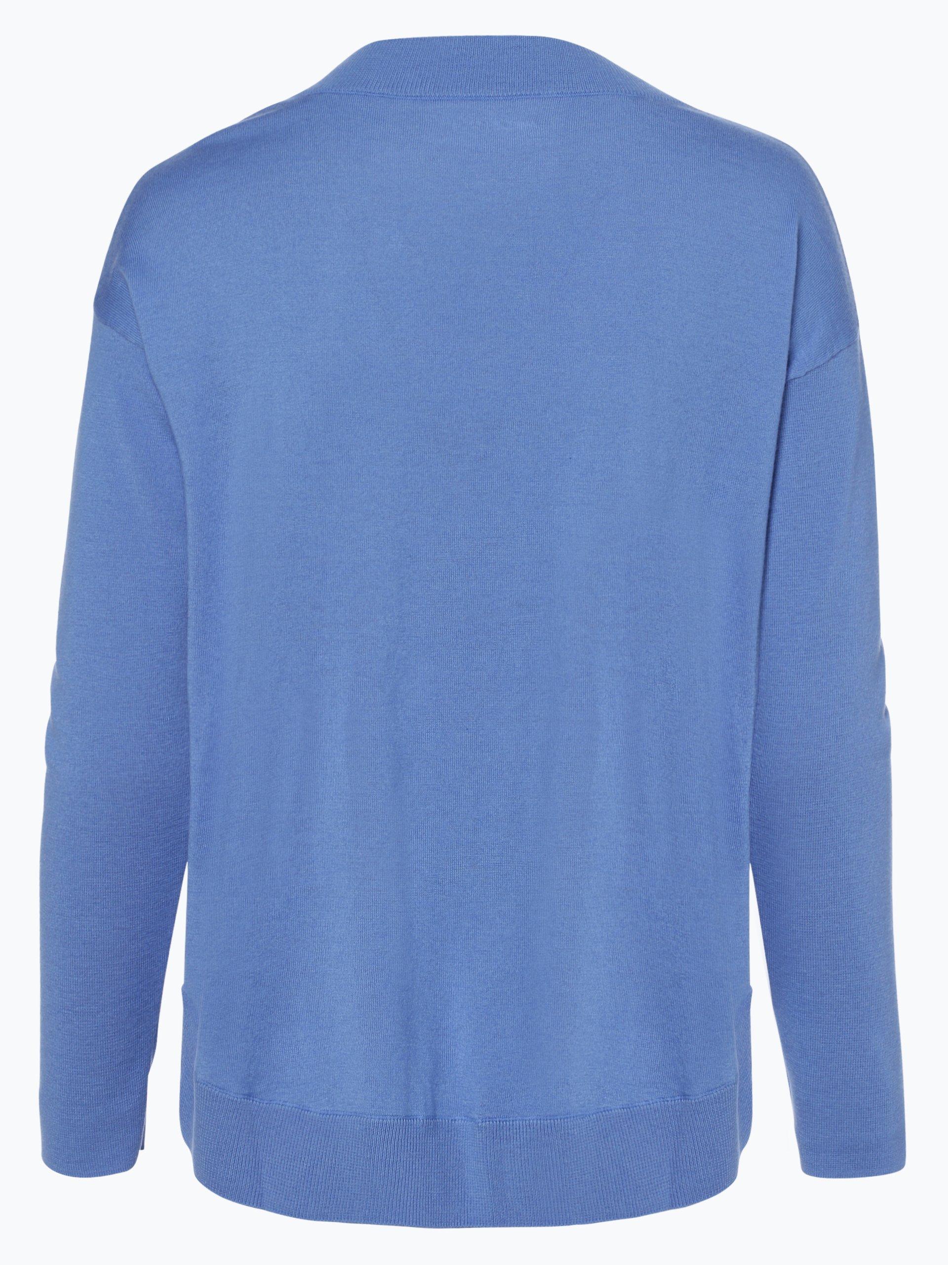 marc cain sports damen pullover mit cashmere anteil blau uni online kaufen peek und cloppenburg de. Black Bedroom Furniture Sets. Home Design Ideas