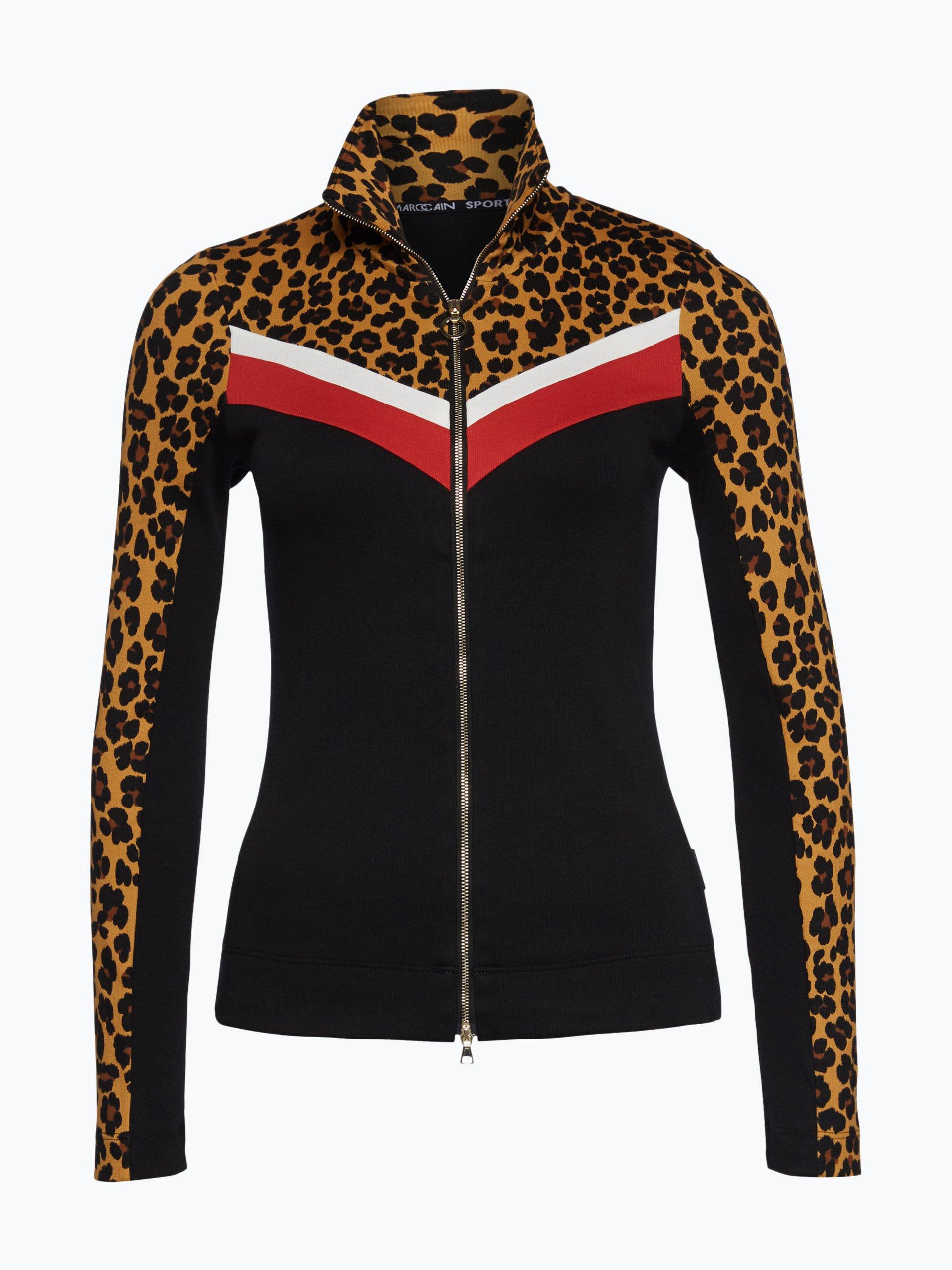 marc cain sports damen shirtjacke schwarz gemustert online kaufen peek und cloppenburg de. Black Bedroom Furniture Sets. Home Design Ideas