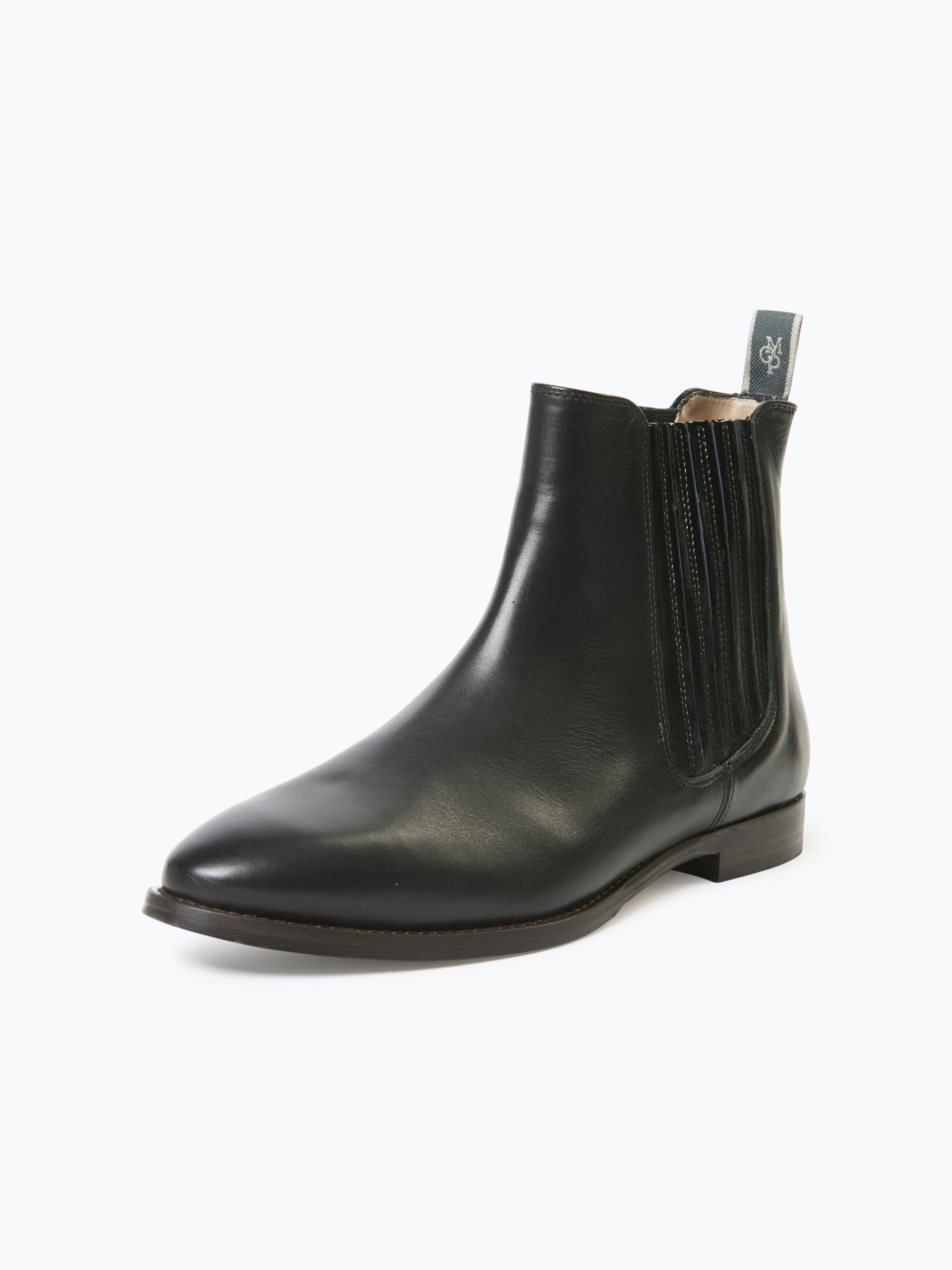 marc o 39 polo damen chelsea boots aus leder schwarz uni online kaufen peek und cloppenburg de. Black Bedroom Furniture Sets. Home Design Ideas