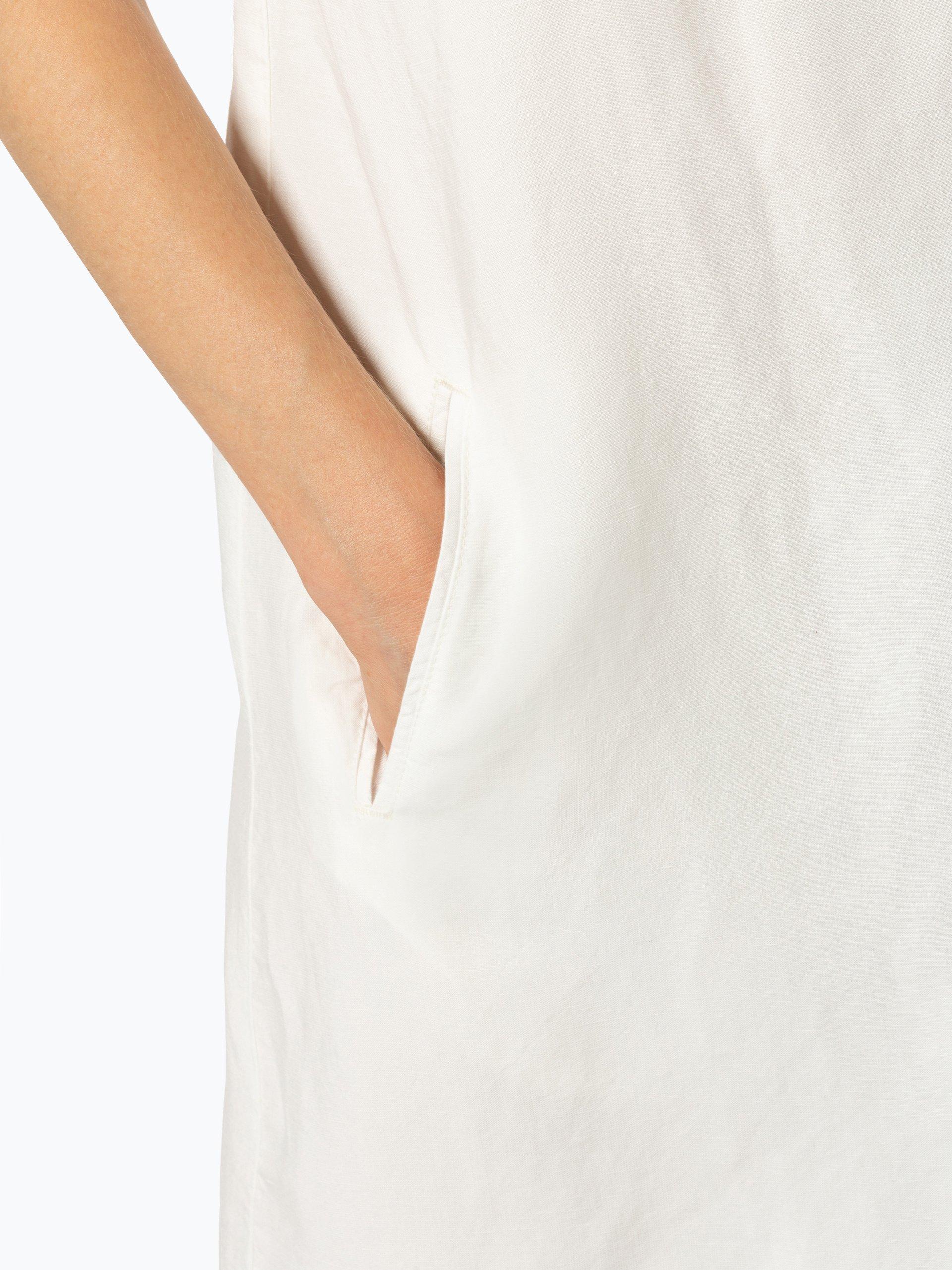 Marc O\'Polo Damen Kleid mit Leinen-Anteil