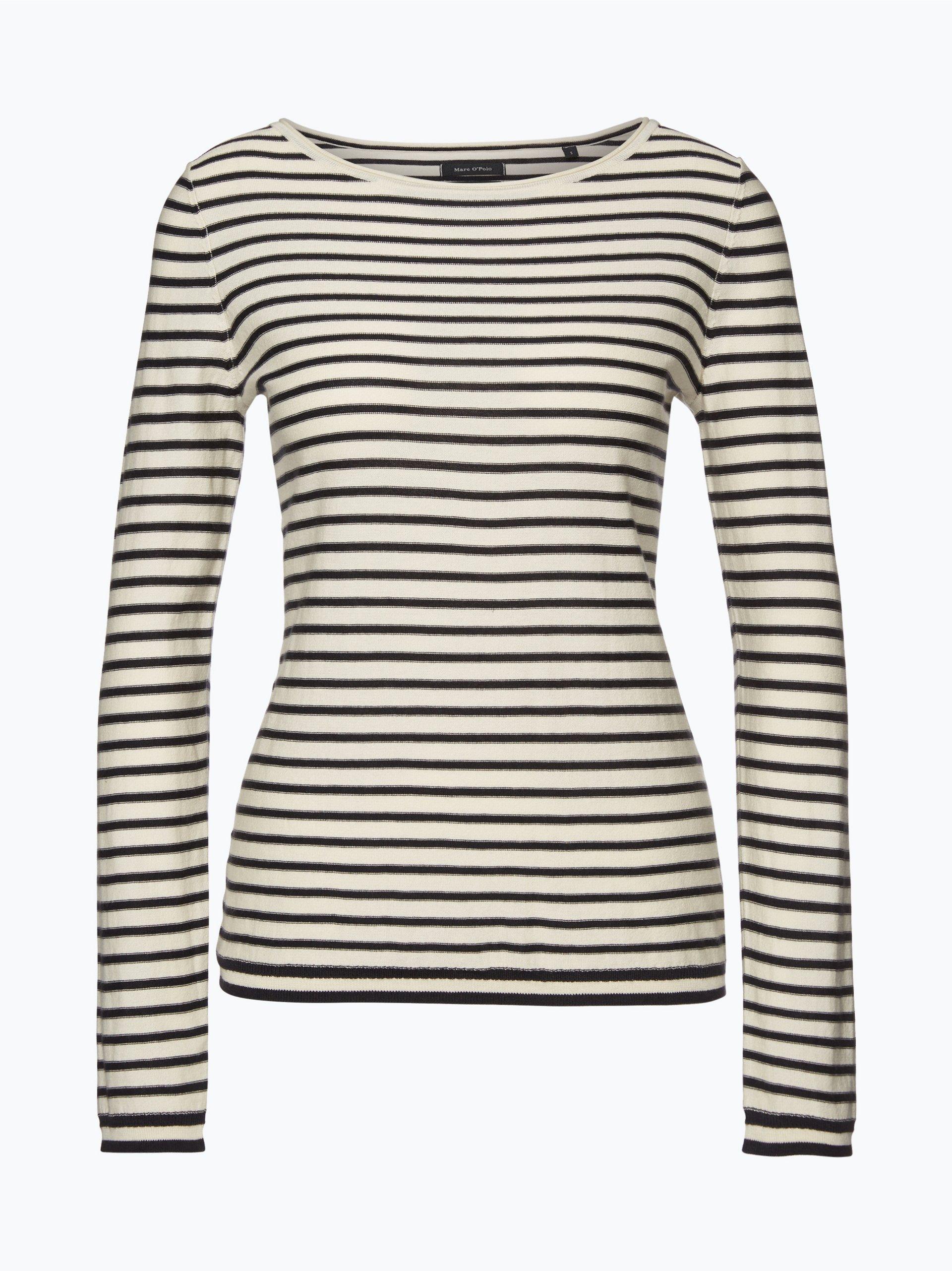 marc o 39 polo damen pullover marine gestreift online kaufen. Black Bedroom Furniture Sets. Home Design Ideas