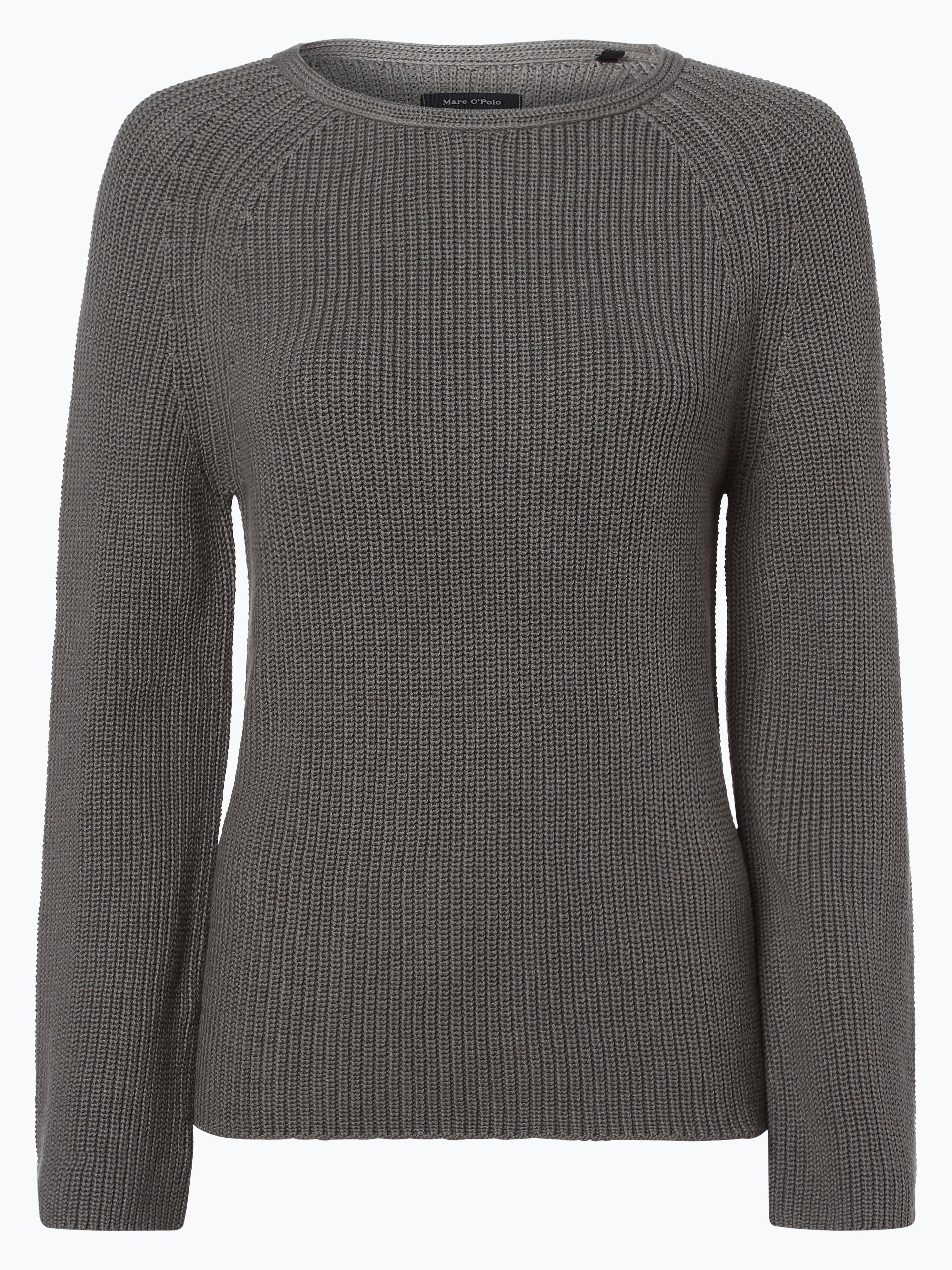 marc o 39 polo damen pullover khaki uni online kaufen vangraaf com. Black Bedroom Furniture Sets. Home Design Ideas