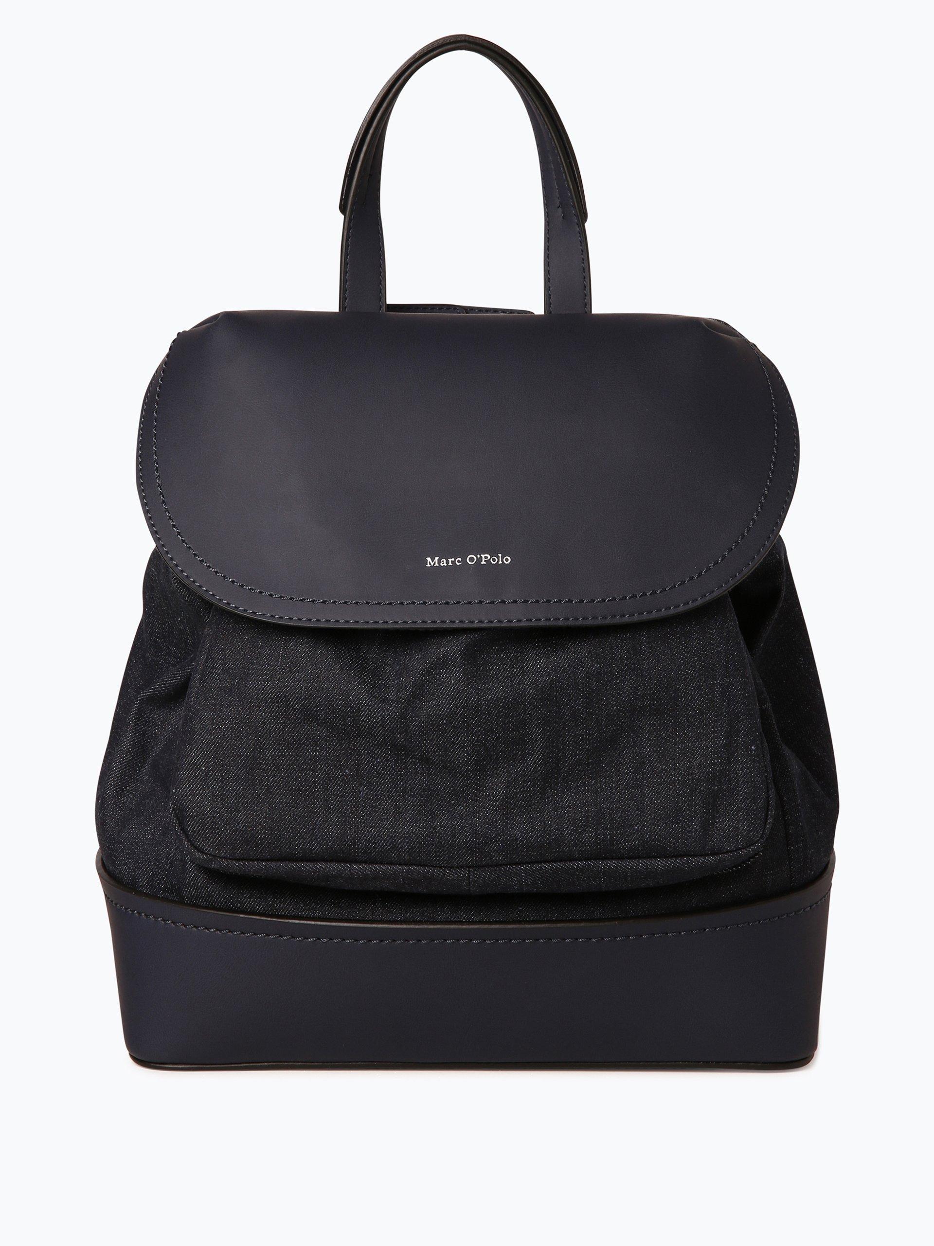 marc o 39 polo damen rucksack blau uni online kaufen. Black Bedroom Furniture Sets. Home Design Ideas