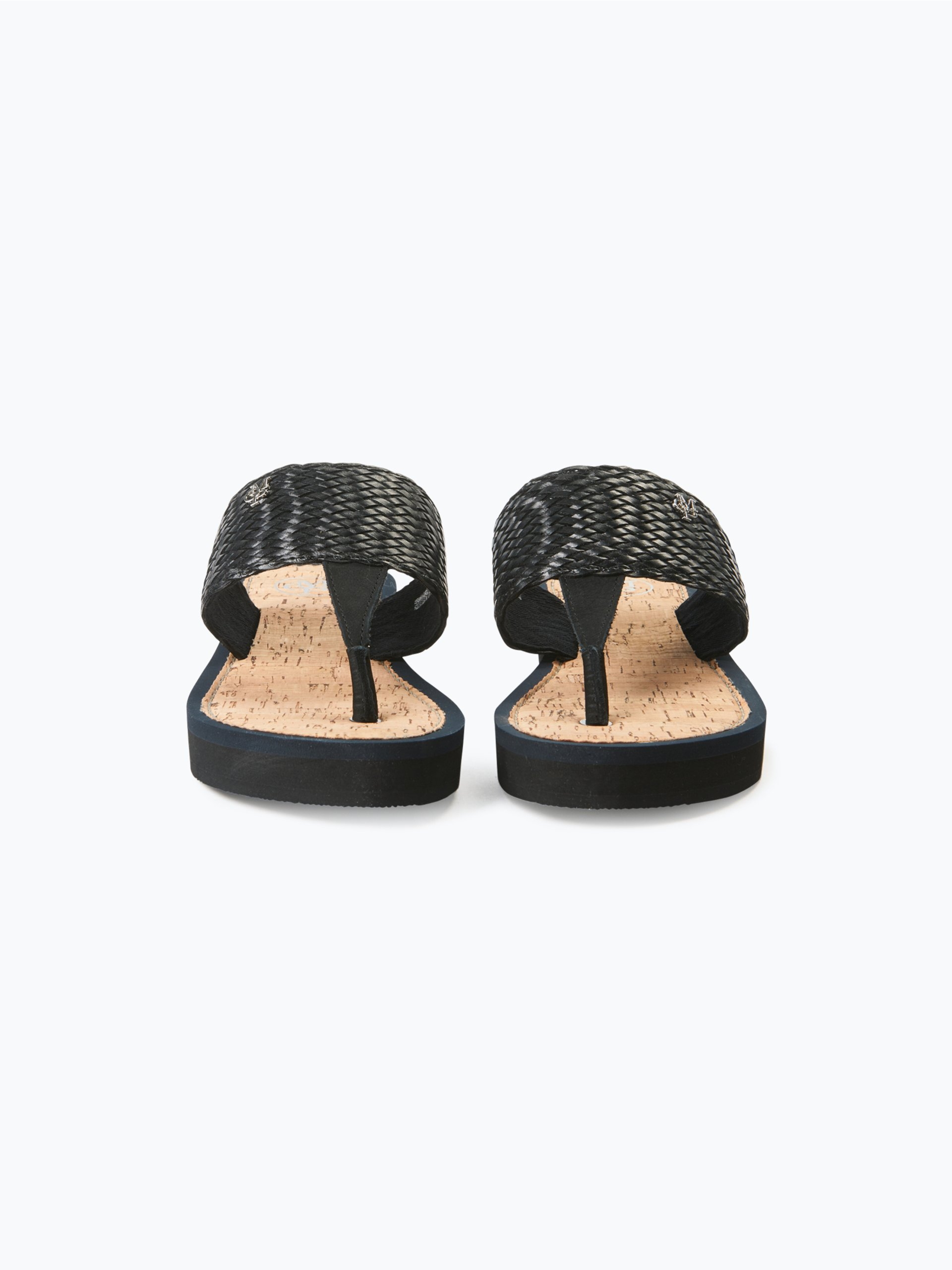 marc o 39 polo damen sandalen mit leder besatz online kaufen. Black Bedroom Furniture Sets. Home Design Ideas