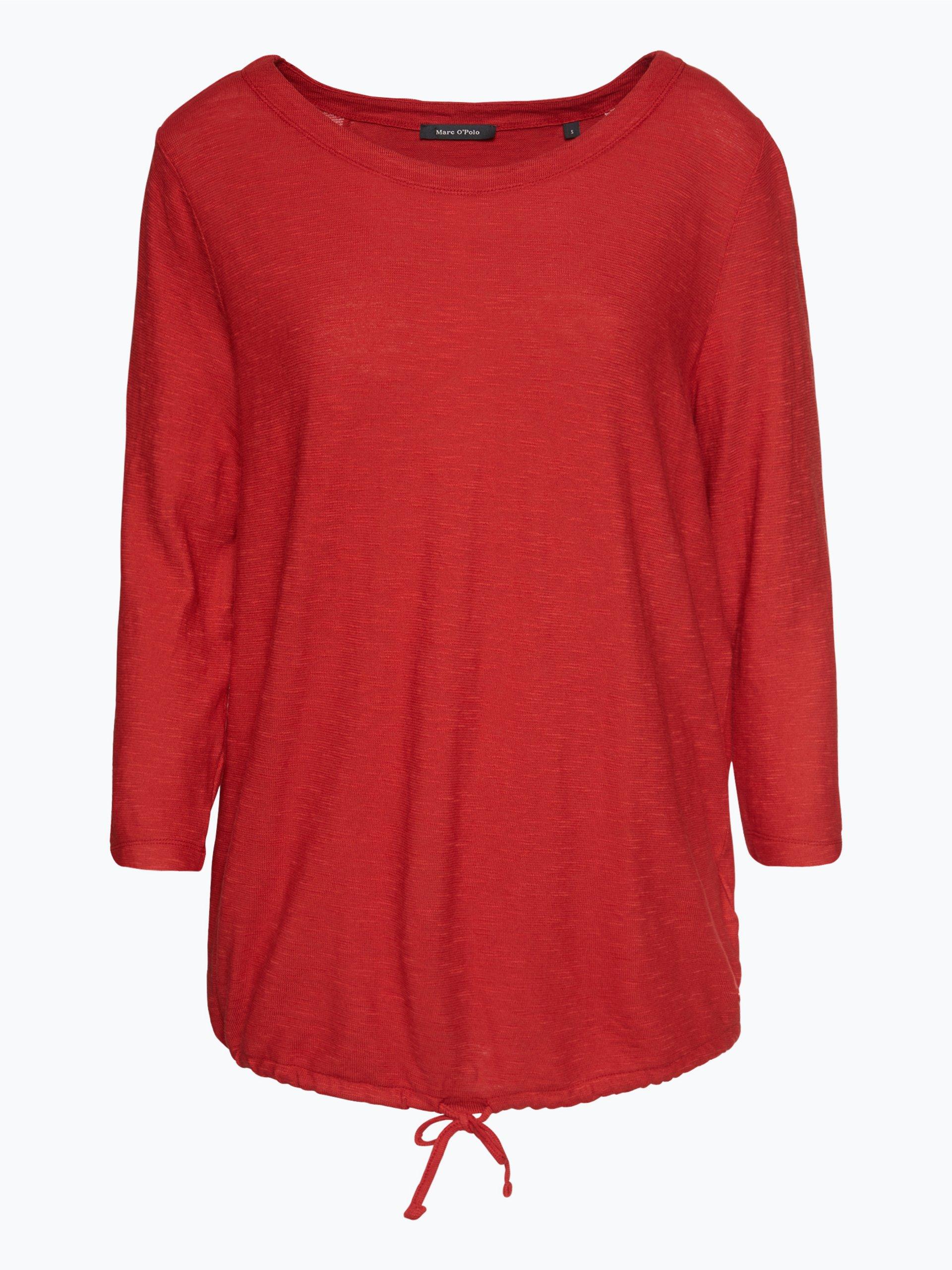 marc o 39 polo damen shirt rot uni online kaufen vangraaf com. Black Bedroom Furniture Sets. Home Design Ideas