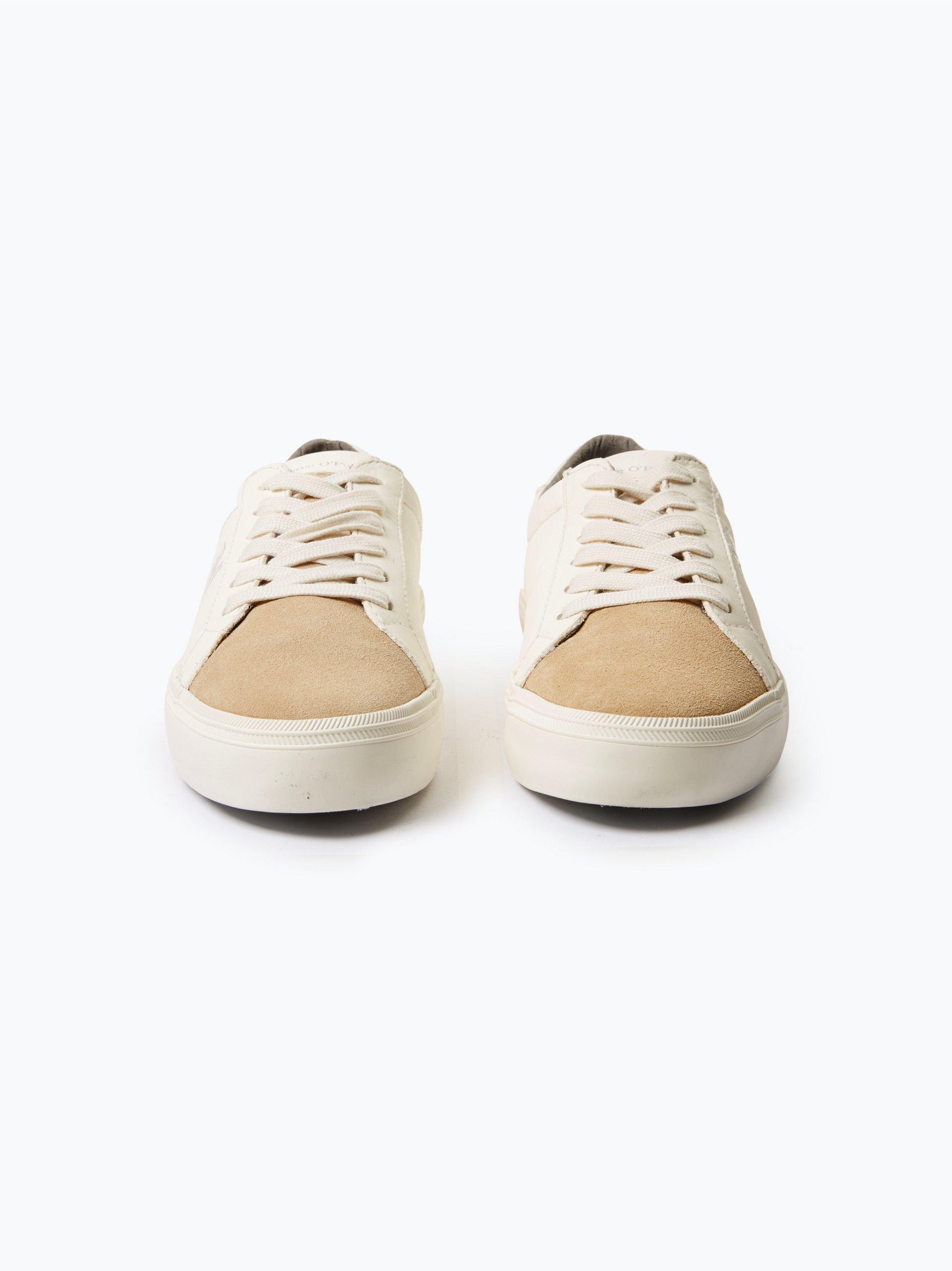 marc o 39 polo damen sneaker aus leder beige uni online. Black Bedroom Furniture Sets. Home Design Ideas