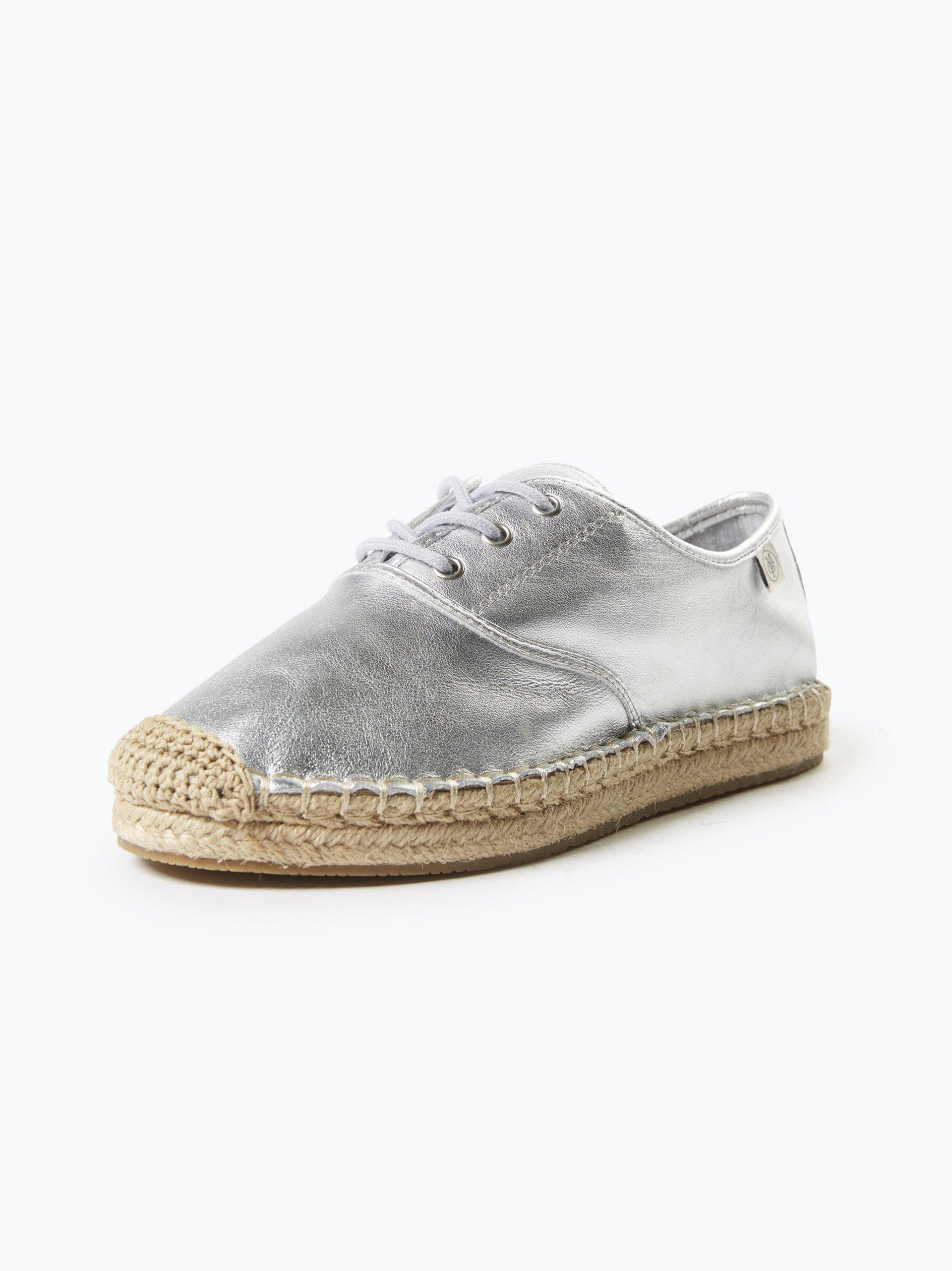 marc o 39 polo damen sneaker aus leder silber uni online kaufen peek und cloppenburg de. Black Bedroom Furniture Sets. Home Design Ideas