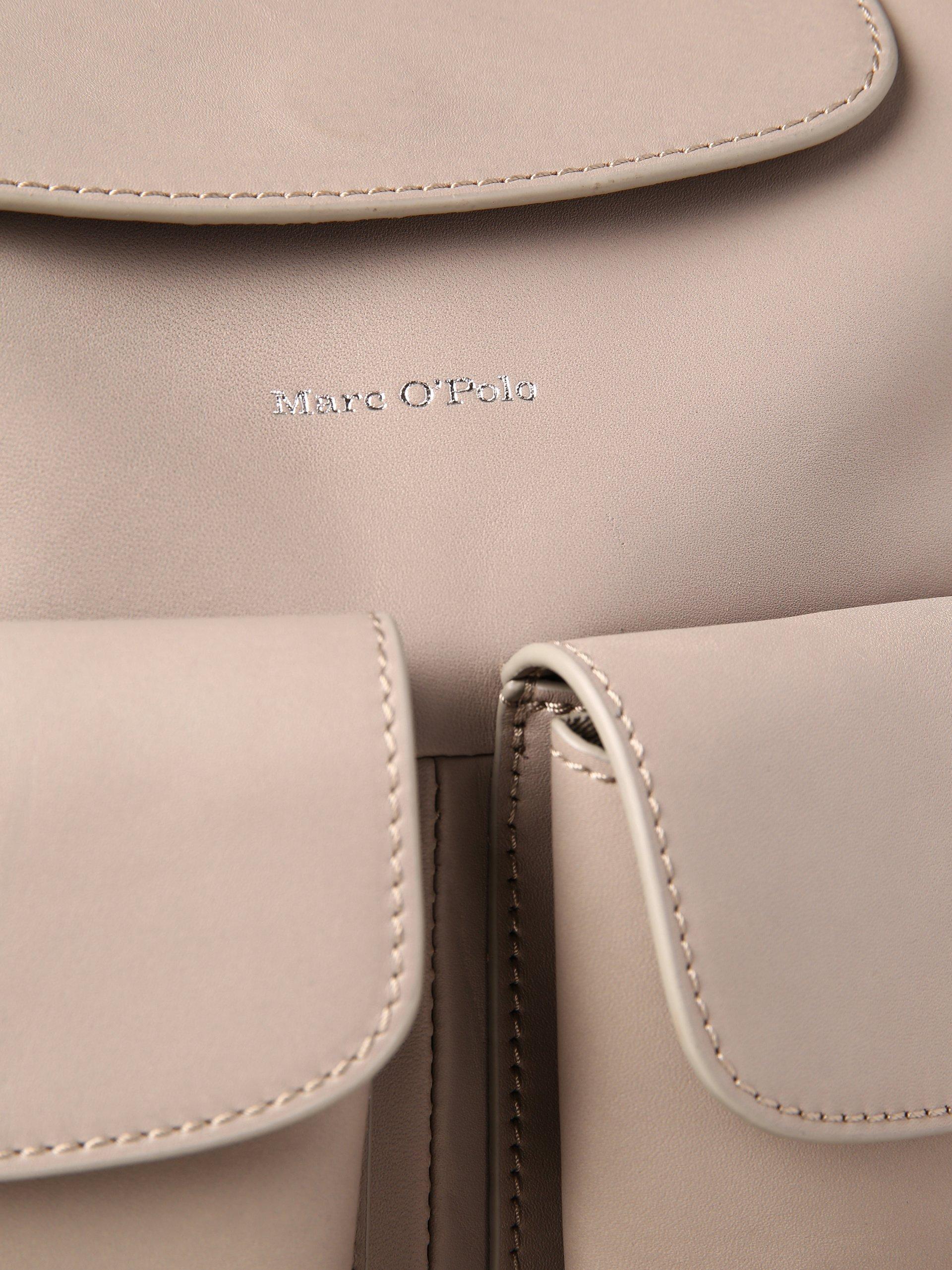 marc o 39 polo damen tasche aus leder grau uni online kaufen peek und cloppenburg de. Black Bedroom Furniture Sets. Home Design Ideas