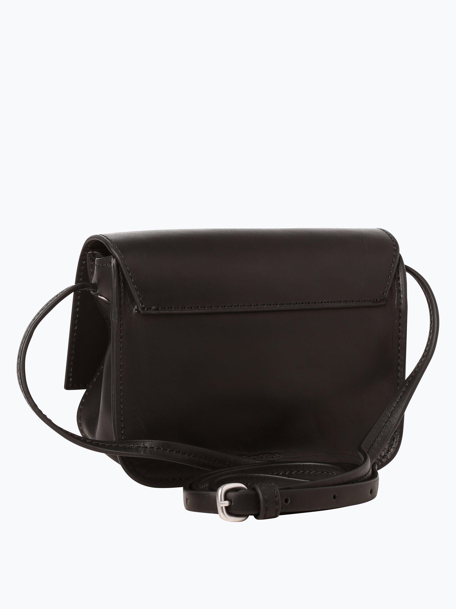 marc o 39 polo damen tasche aus leder schwarz uni online kaufen vangraaf com. Black Bedroom Furniture Sets. Home Design Ideas