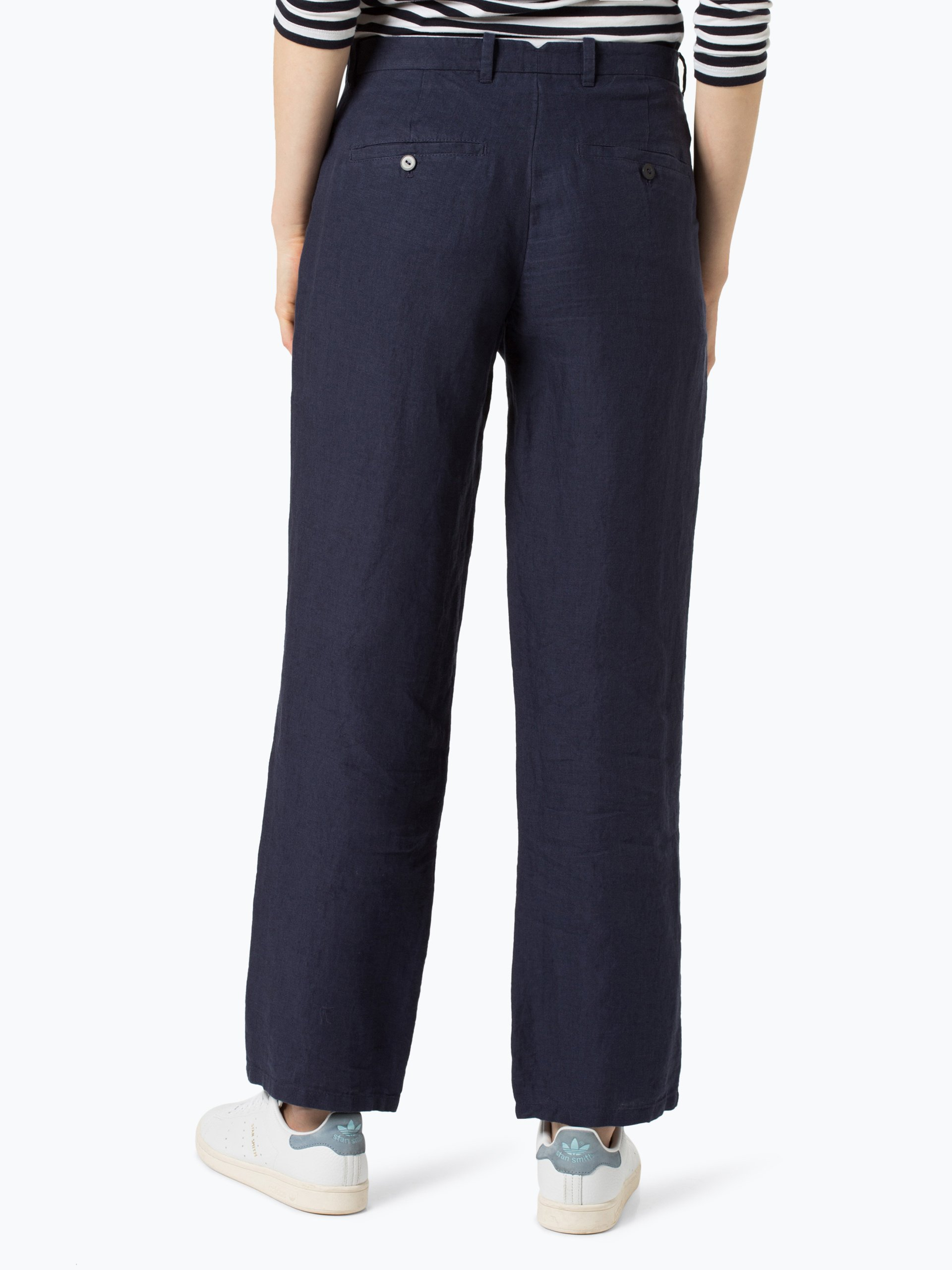 Marc O\'Polo Damskie spodnie lniane