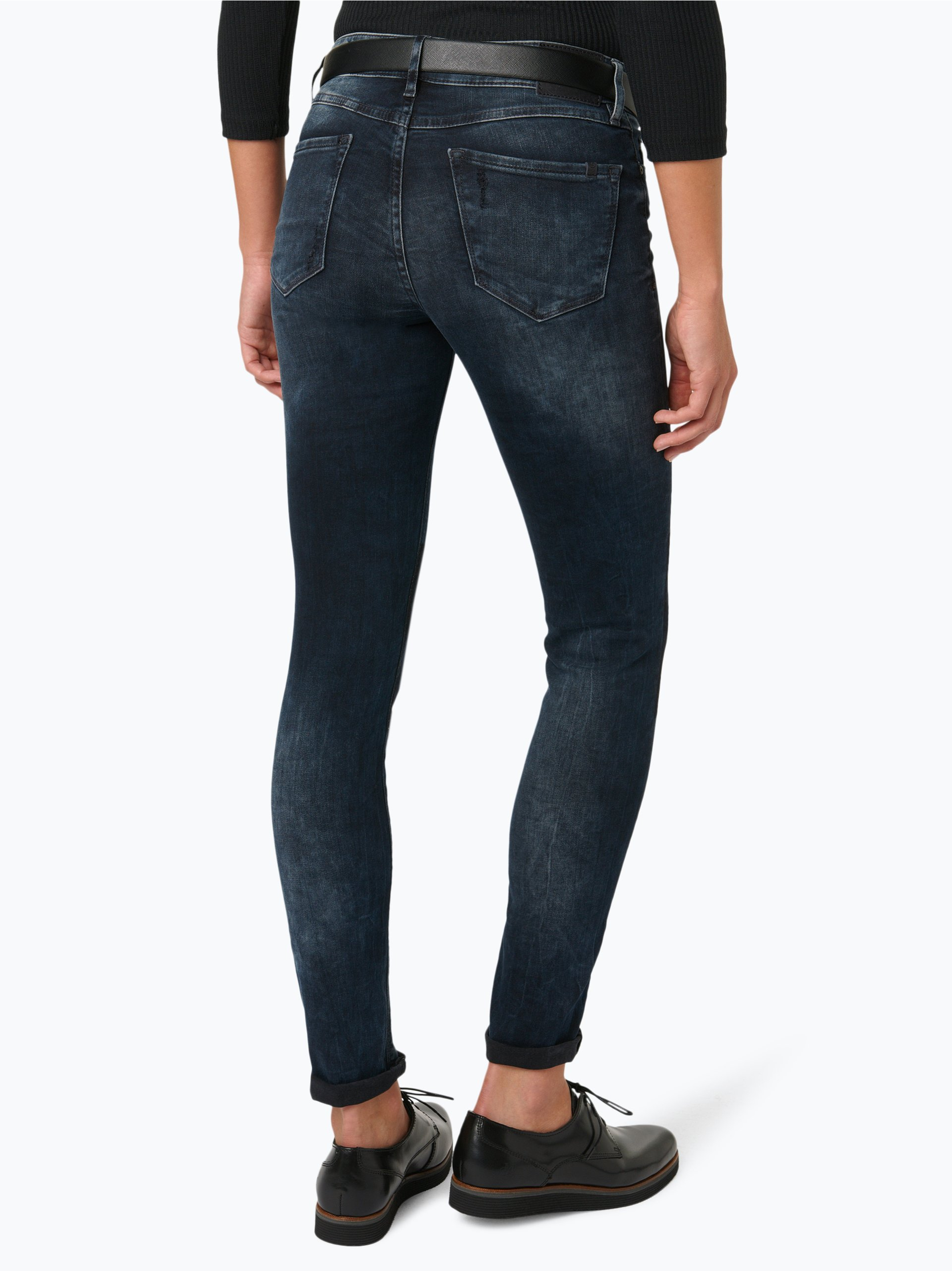 marc o 39 polo denim damen jeans alva blau uni online kaufen vangraaf com. Black Bedroom Furniture Sets. Home Design Ideas