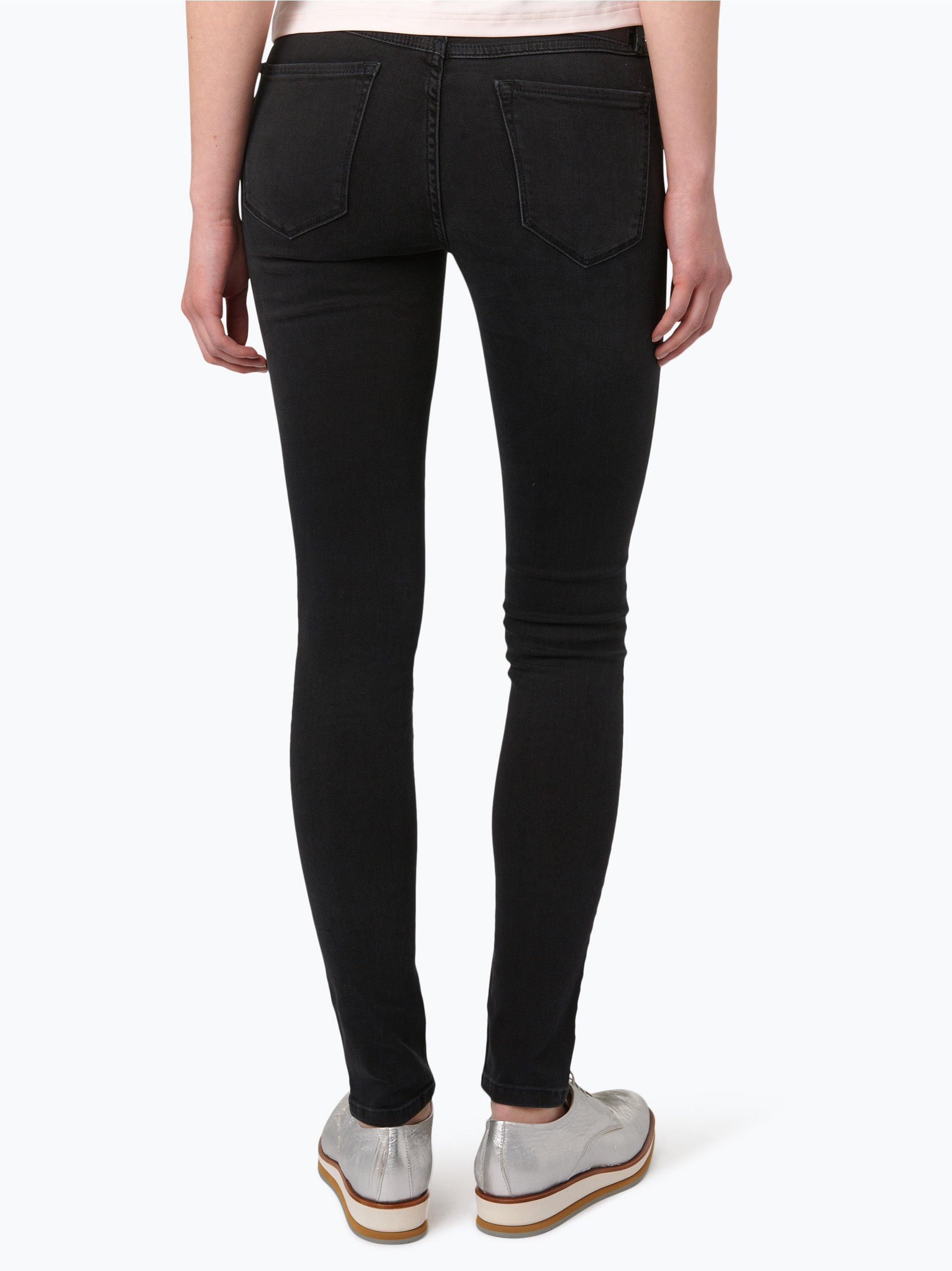 marc o 39 polo denim damen jeans alva anthrazit uni online. Black Bedroom Furniture Sets. Home Design Ideas