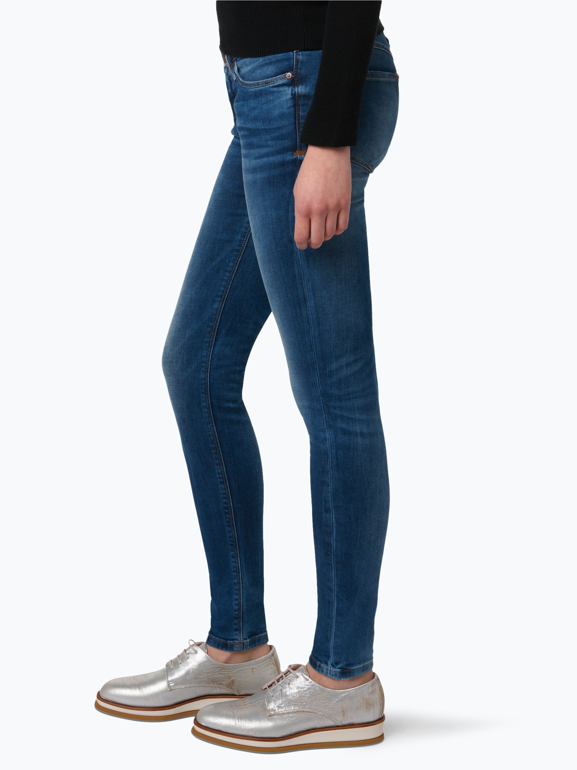 marc o 39 polo denim damen jeans siv blau uni online kaufen. Black Bedroom Furniture Sets. Home Design Ideas