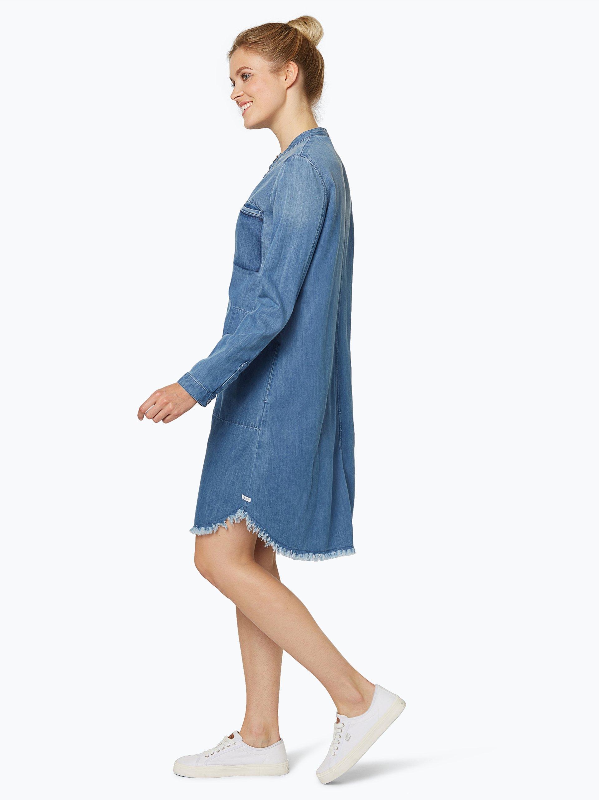 marc o 39 polo denim damen jeanskleid blau uni online kaufen vangraaf com. Black Bedroom Furniture Sets. Home Design Ideas