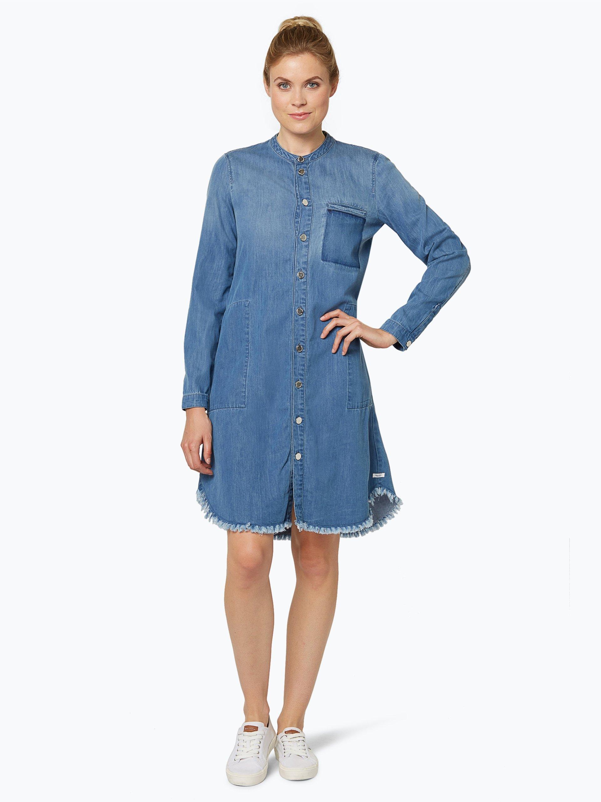 marc o 39 polo denim damen jeanskleid blau uni online kaufen peek und cloppenburg de. Black Bedroom Furniture Sets. Home Design Ideas